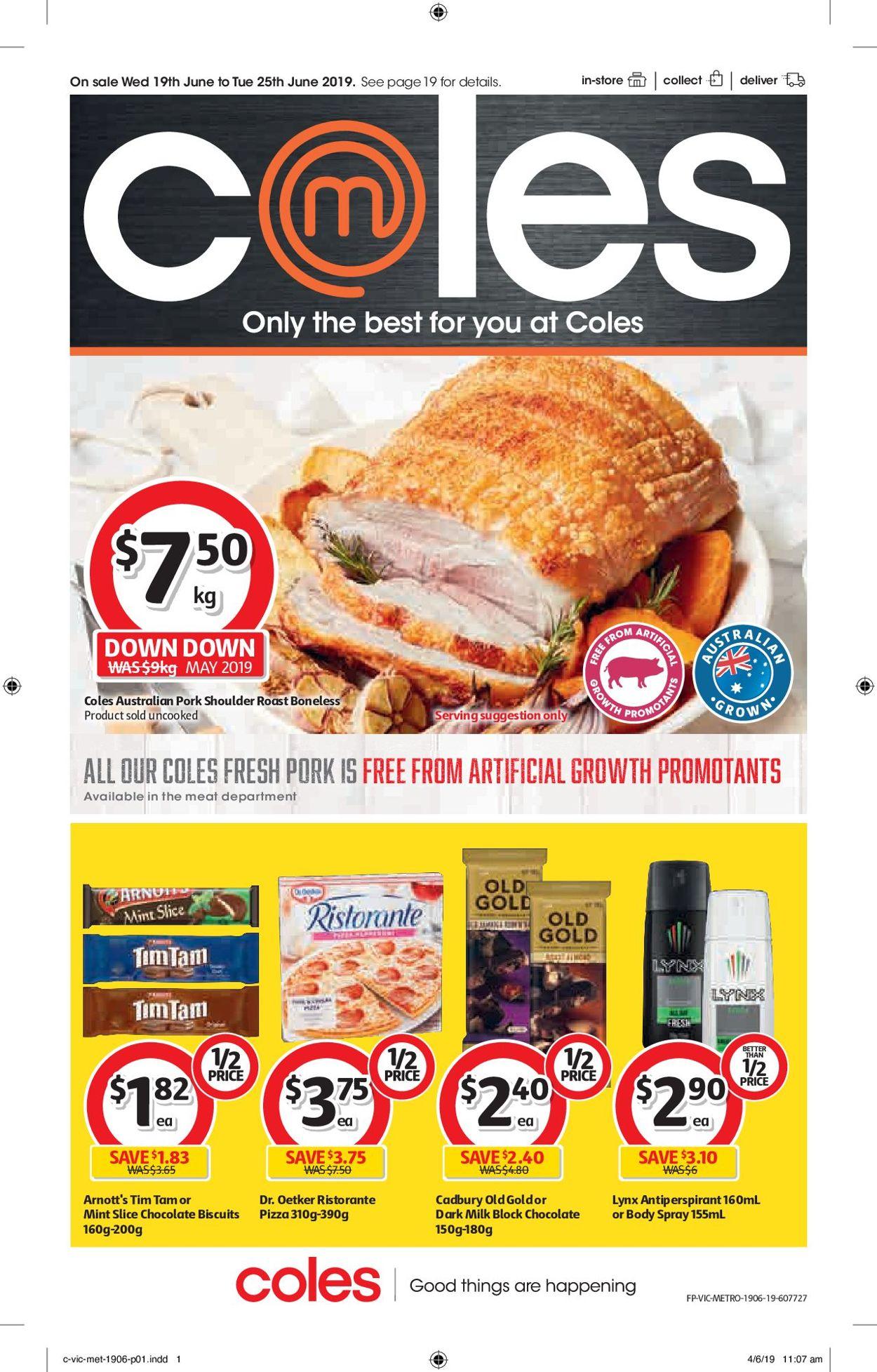 Coles Catalogue - 19/06-25/06/2019