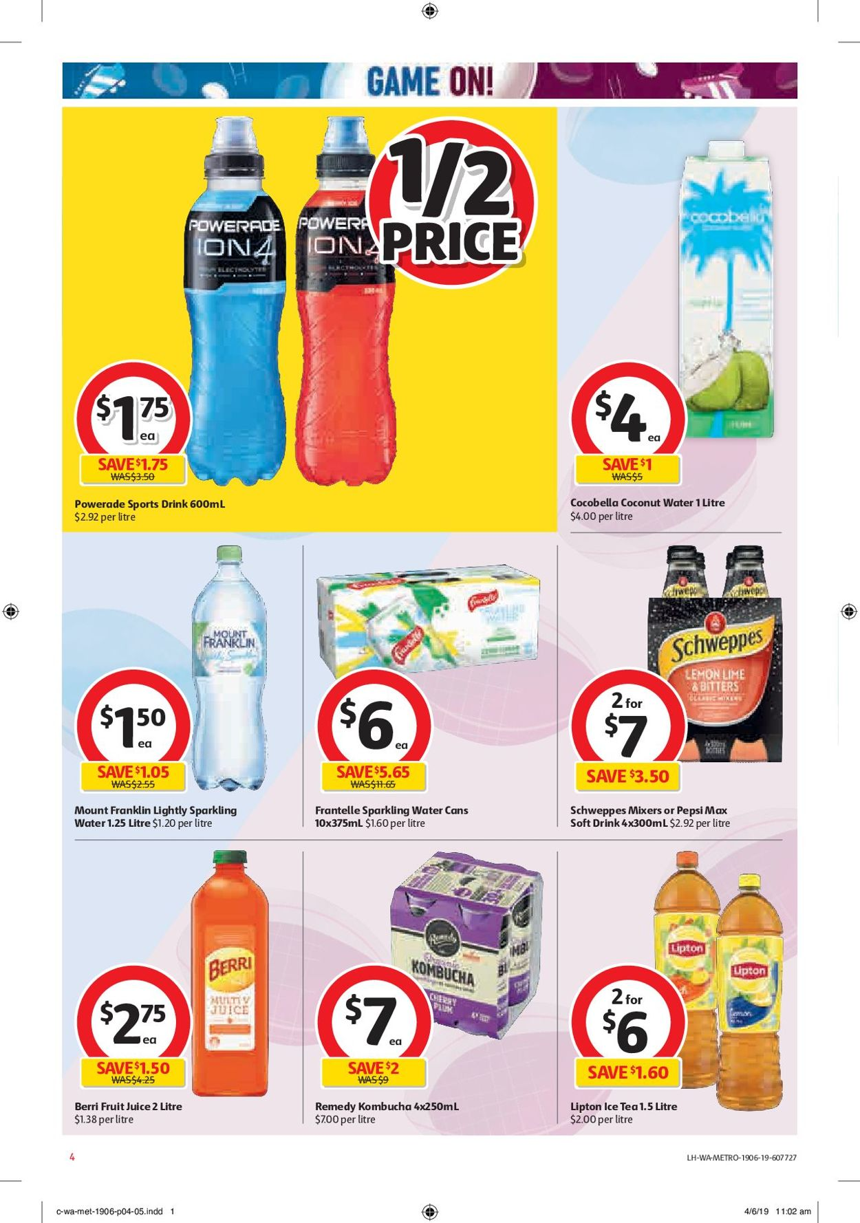 Coles Catalogue - 19/06-25/06/2019 (Page 4)