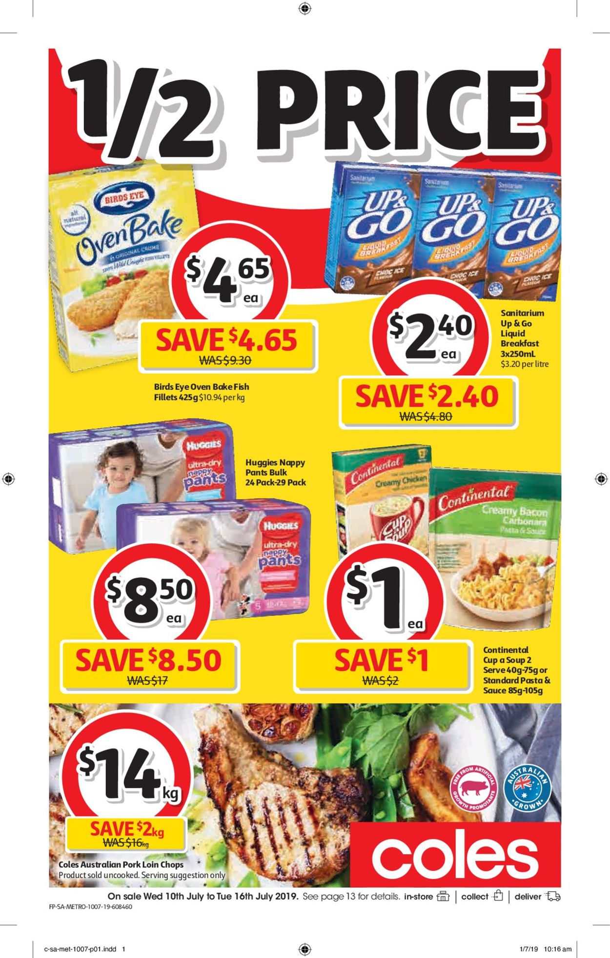Coles Catalogue - 10/07-16/07/2019