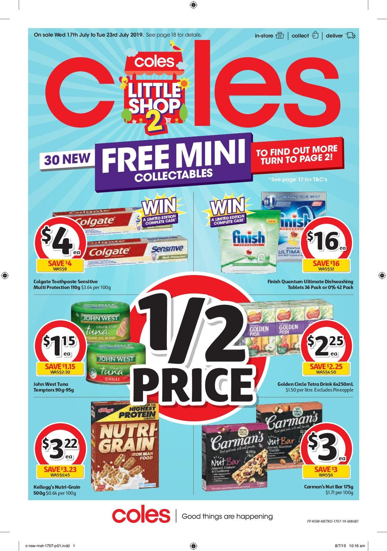 Coles Catalogue - 17/07-23/07/2019