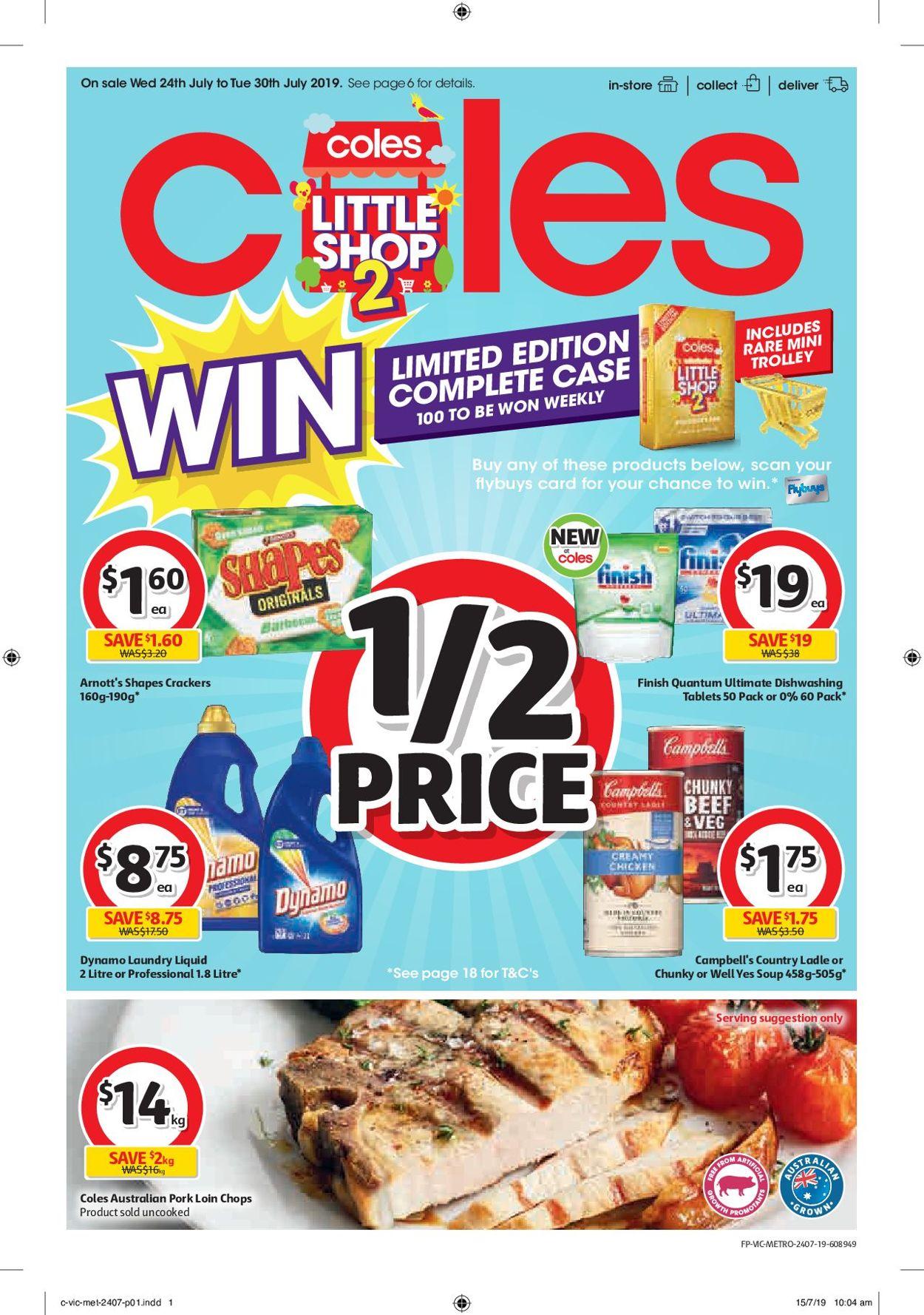 Coles Catalogue - 24/07-30/07/2019