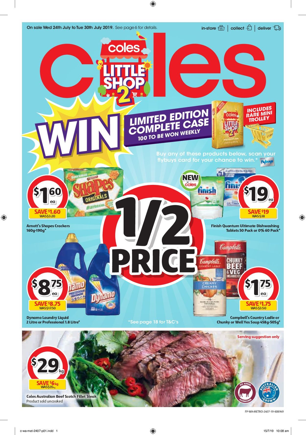 Coles Catalogue - 24/07-30/07/2019