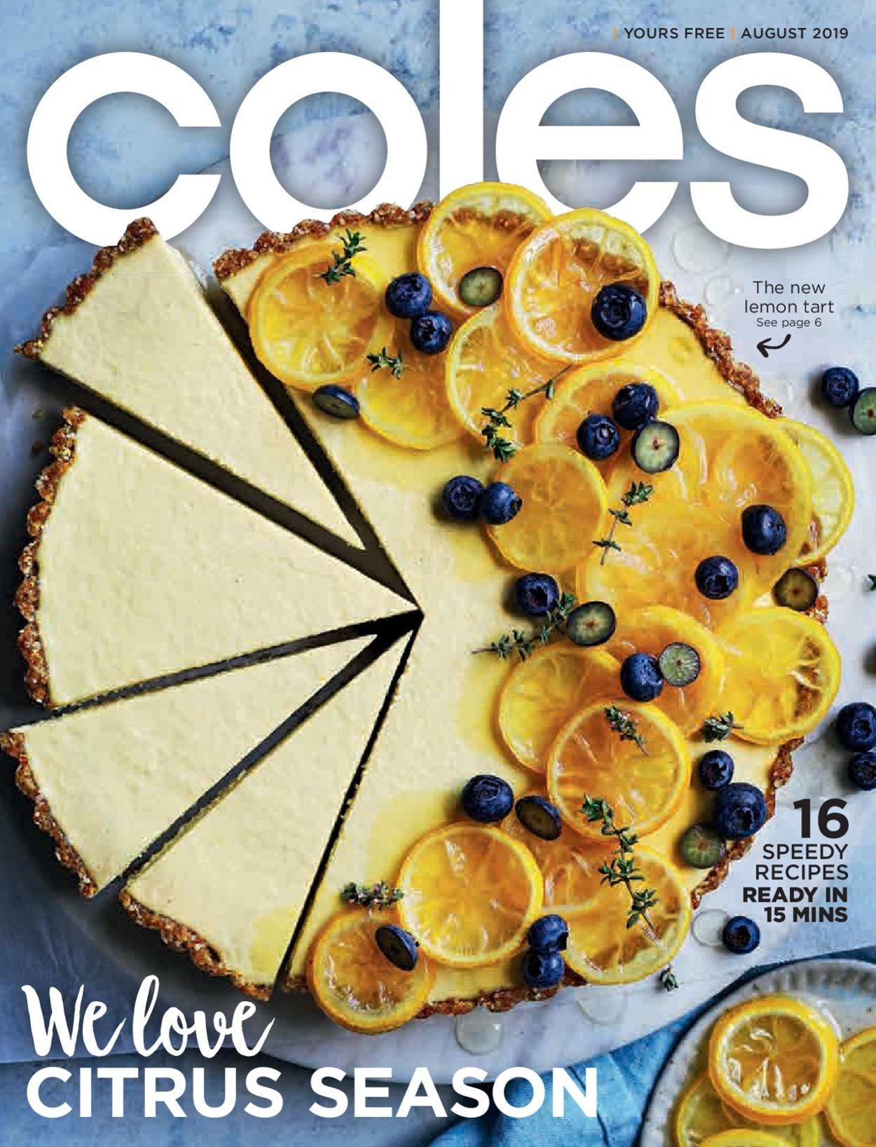 Coles Catalogue - 01/08-31/08/2019