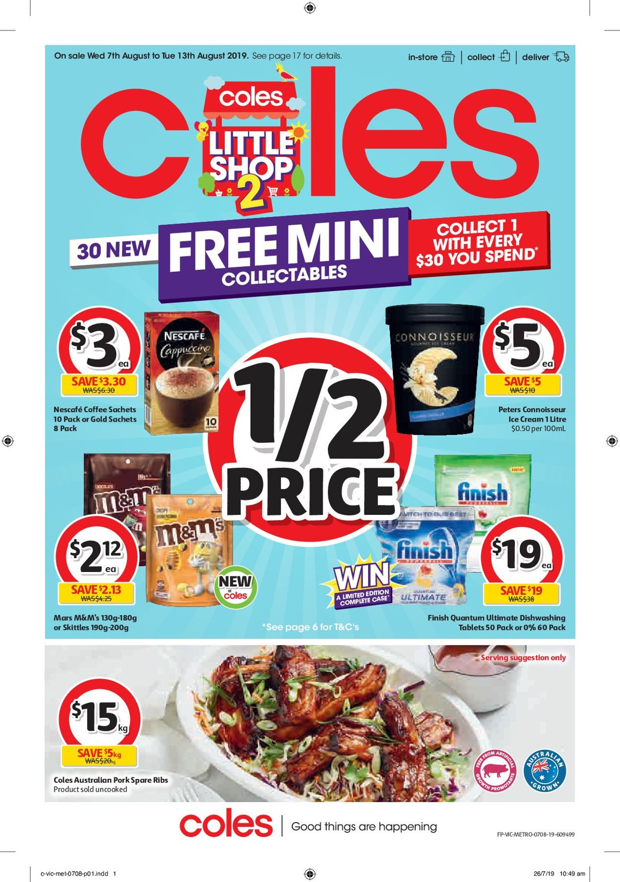 Coles Catalogue - 07/08-13/08/2019