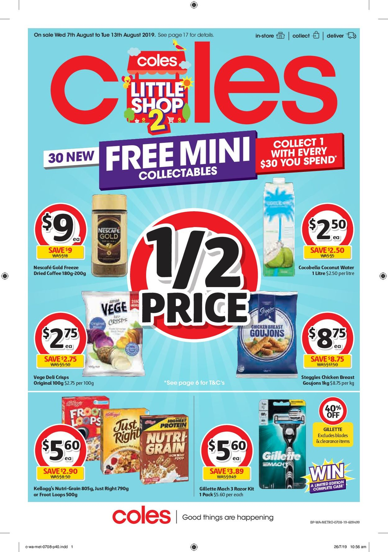 Coles Catalogue - 07/08-13/08/2019 (Page 40)