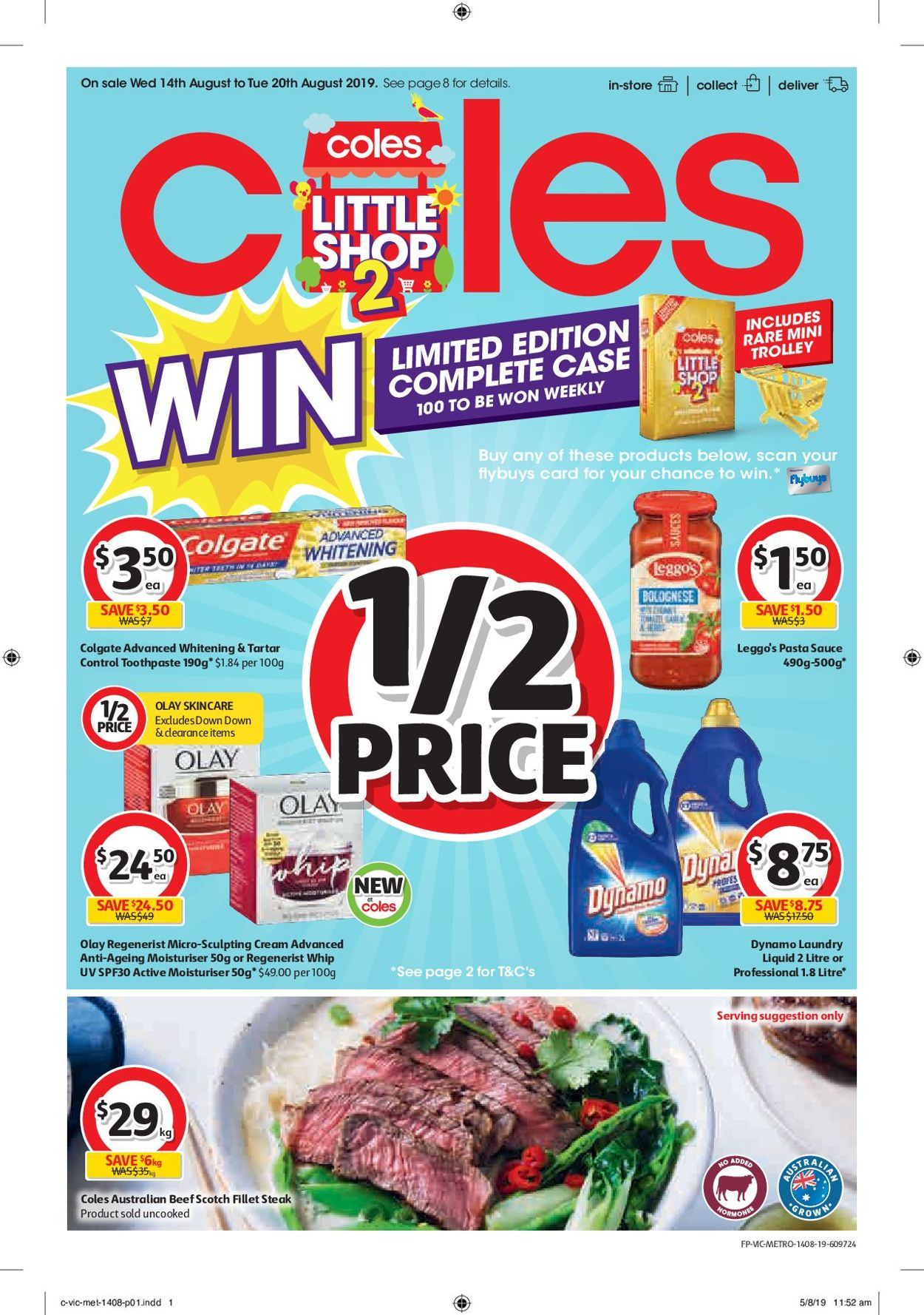 Coles Catalogue - 14/08-20/08/2019