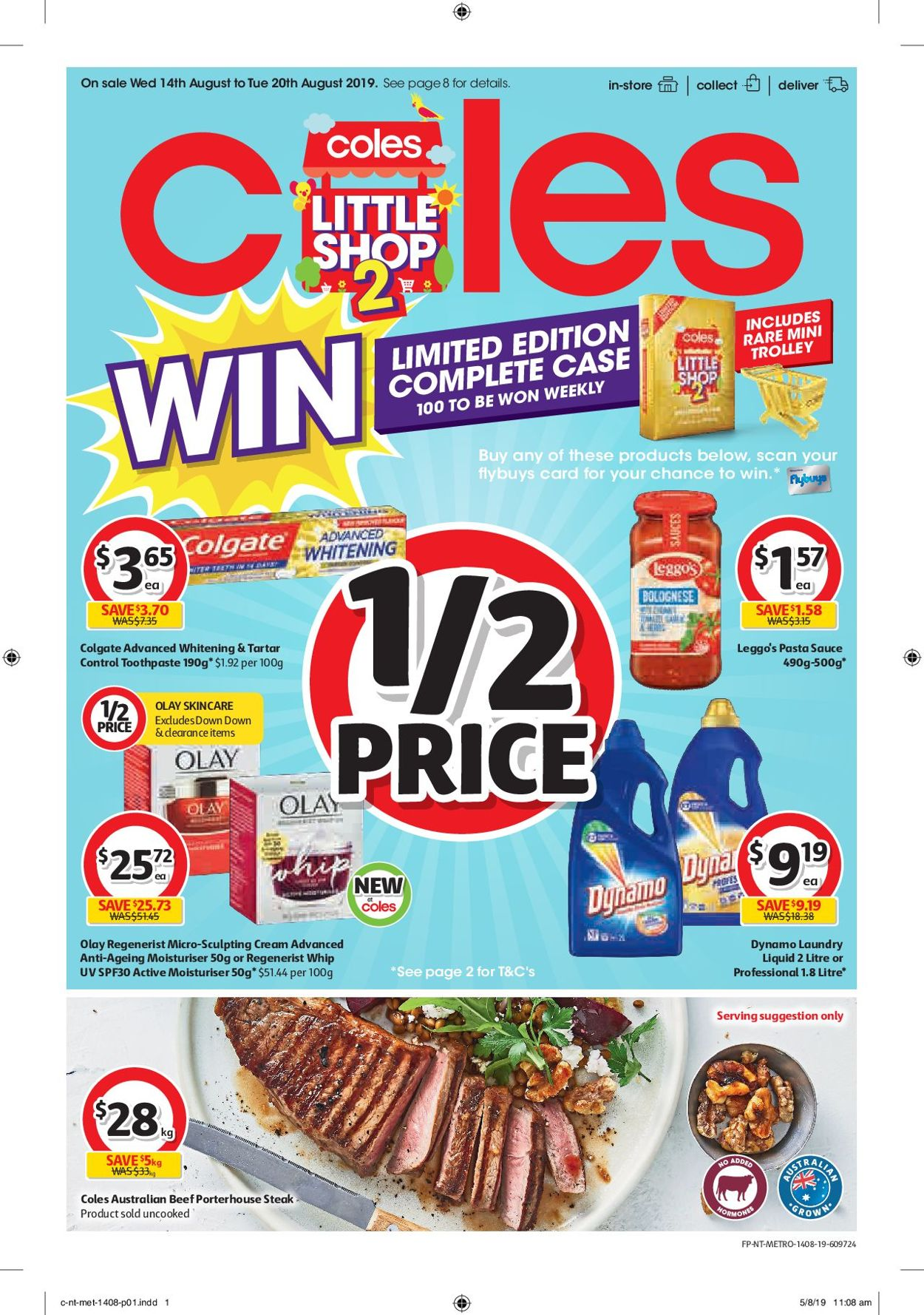 Coles Catalogue - 14/08-20/08/2019
