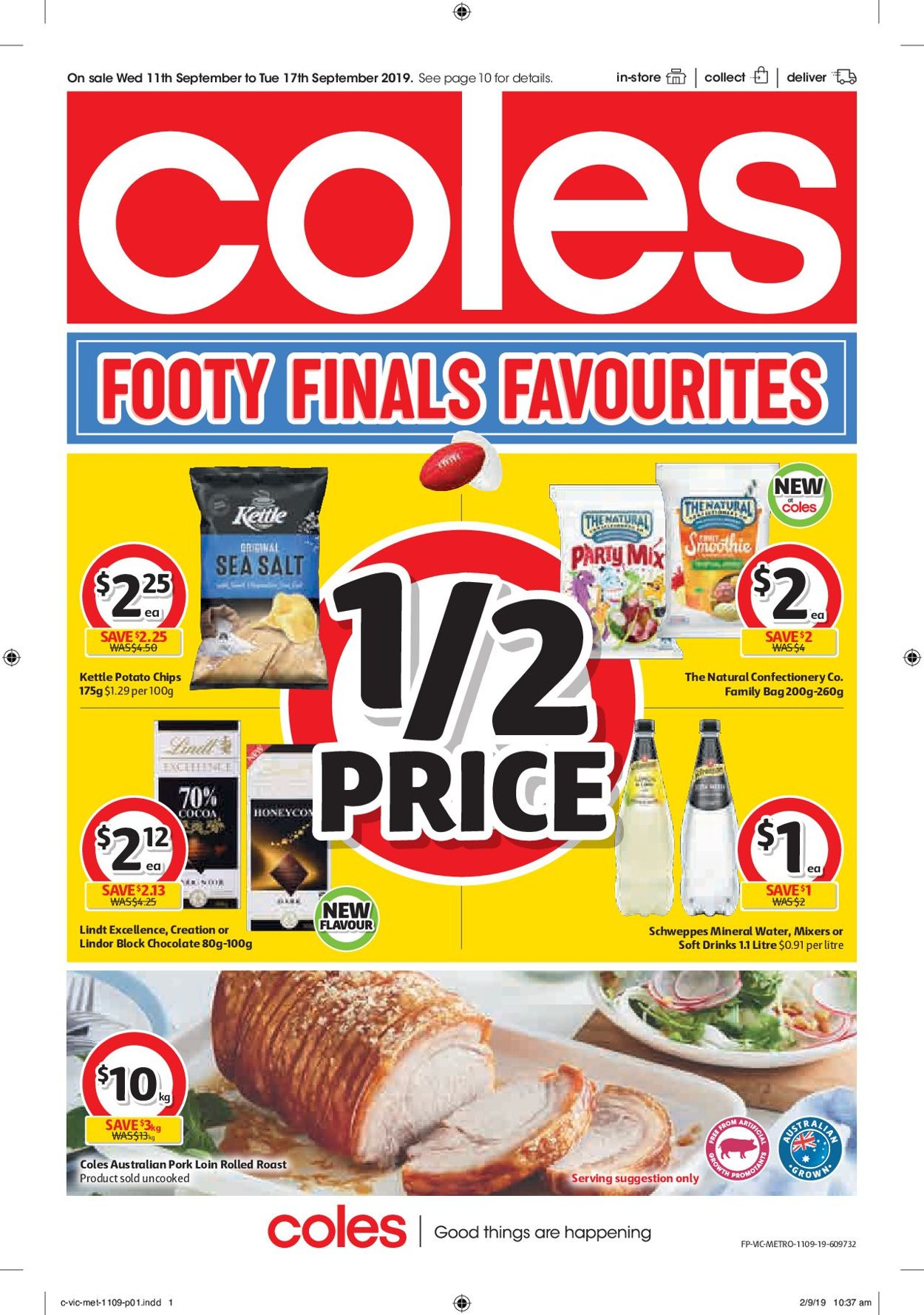 Coles Catalogue - 11/09-17/09/2019