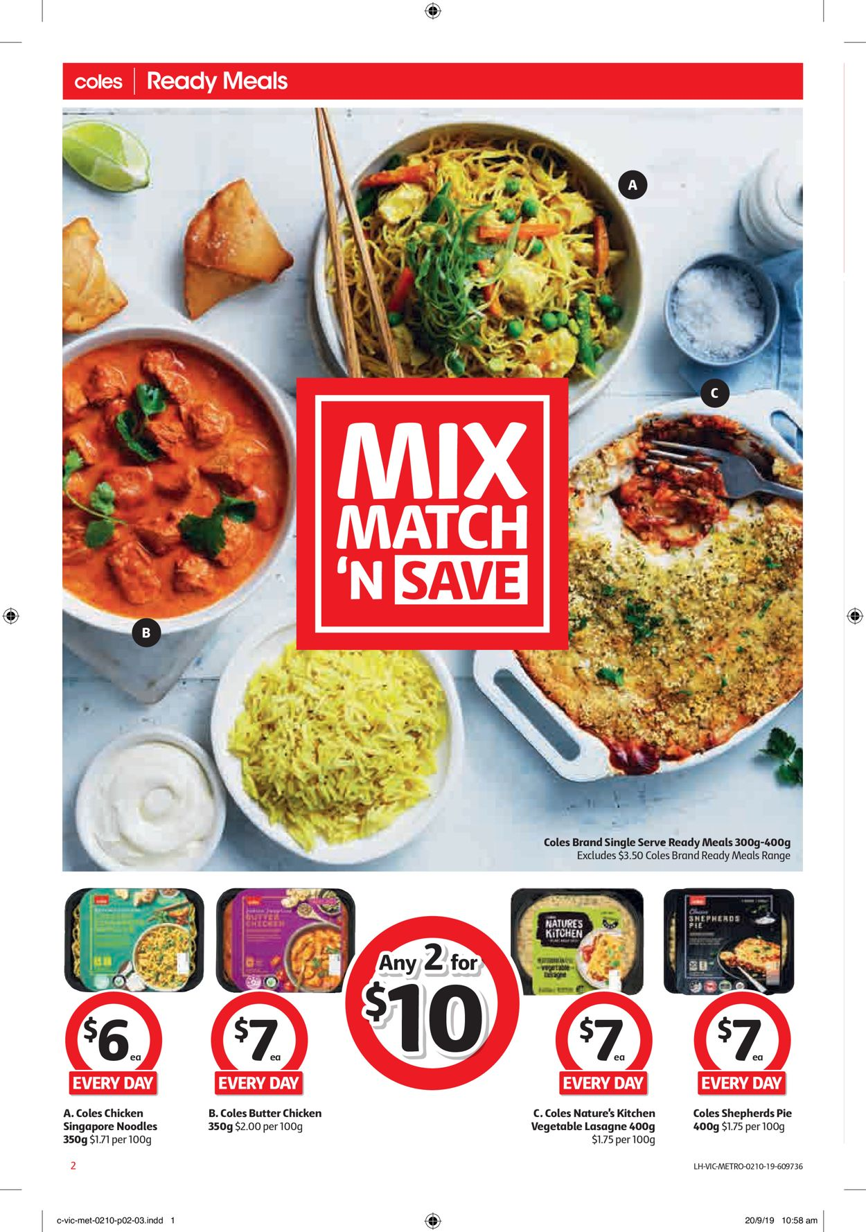 Coles Catalogue - 02/10-08/10/2019 (Page 2)