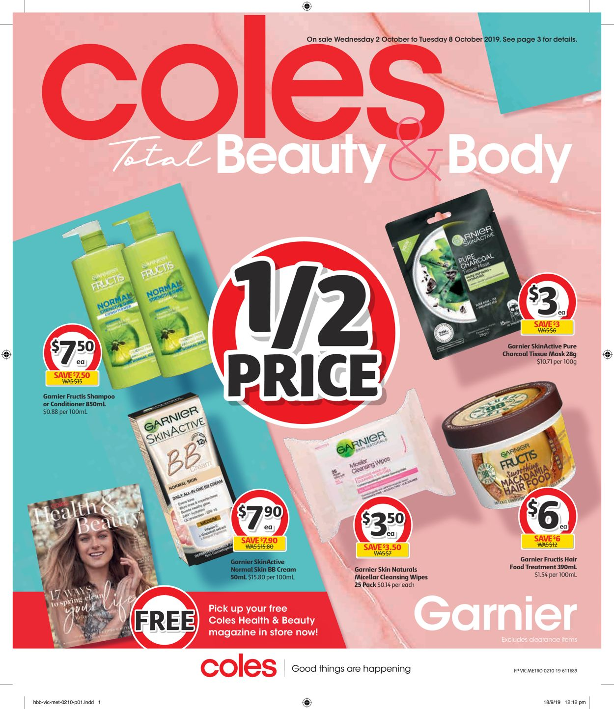 Coles Catalogue - 02/10-08/10/2019