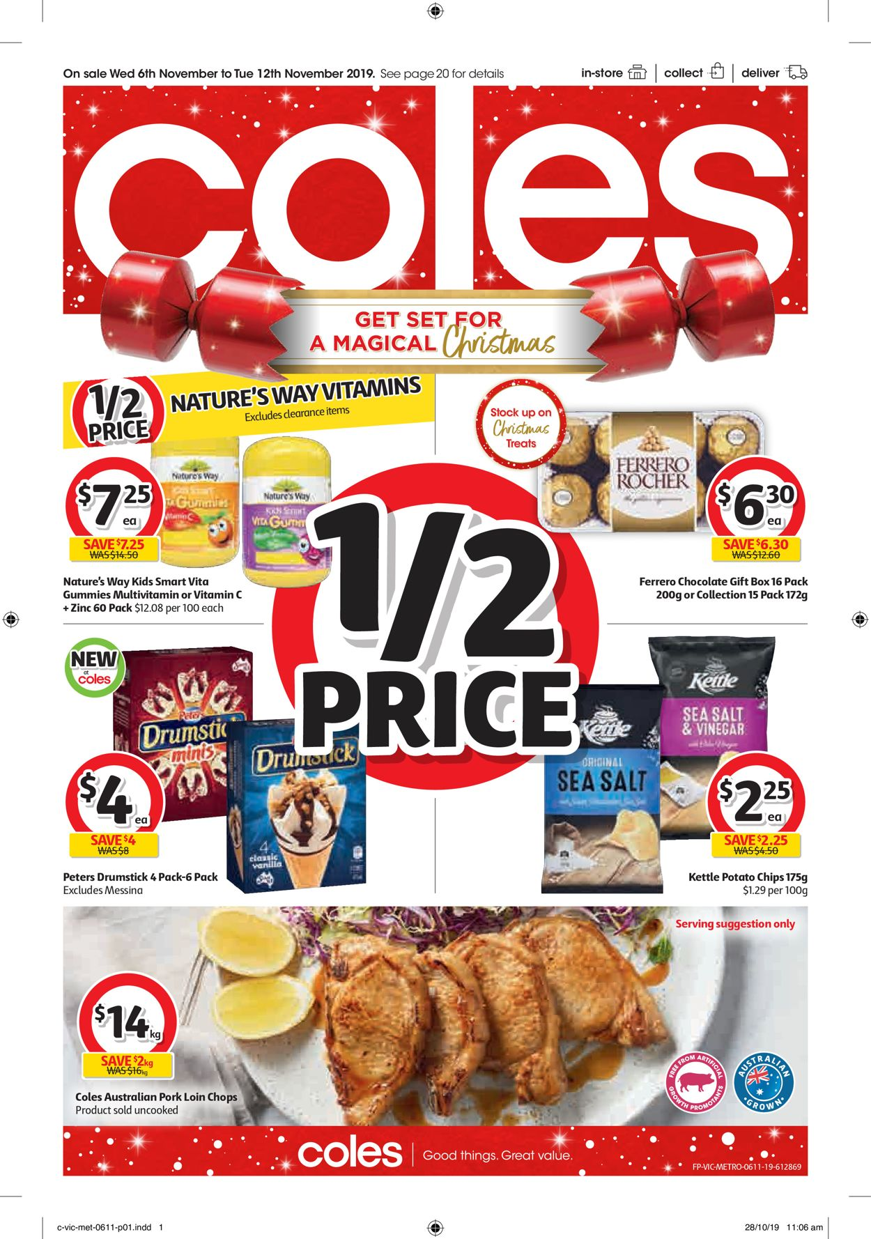 Coles Catalogue - 06/11-12/11/2019