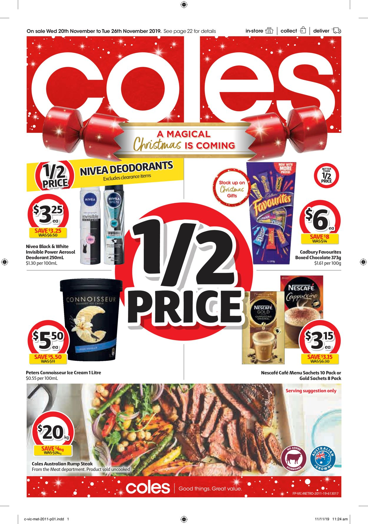 Coles Catalogue - 20/11-26/11/2019