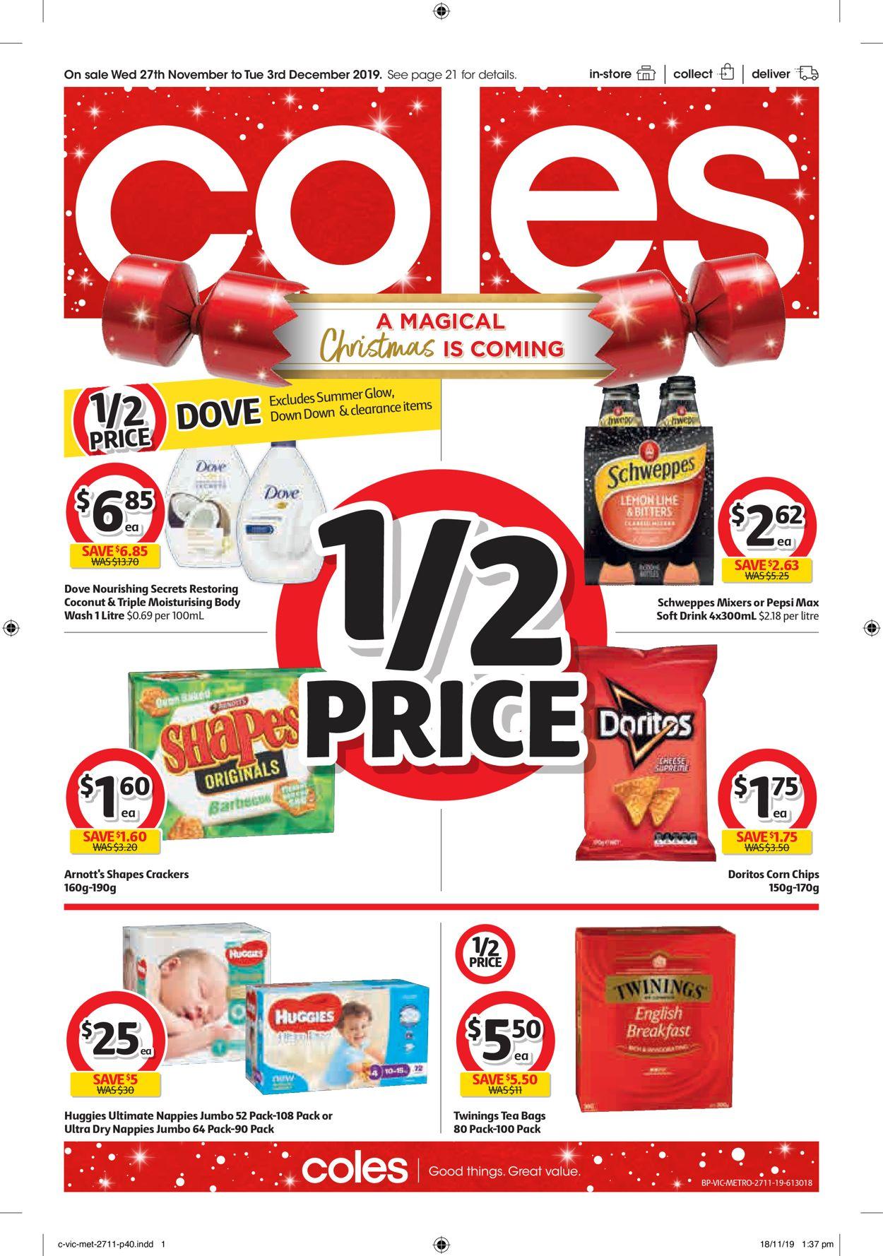 Coles Christmas Catalogue 2019 Catalogue - 27/11-03/12/2019 (Page 40)