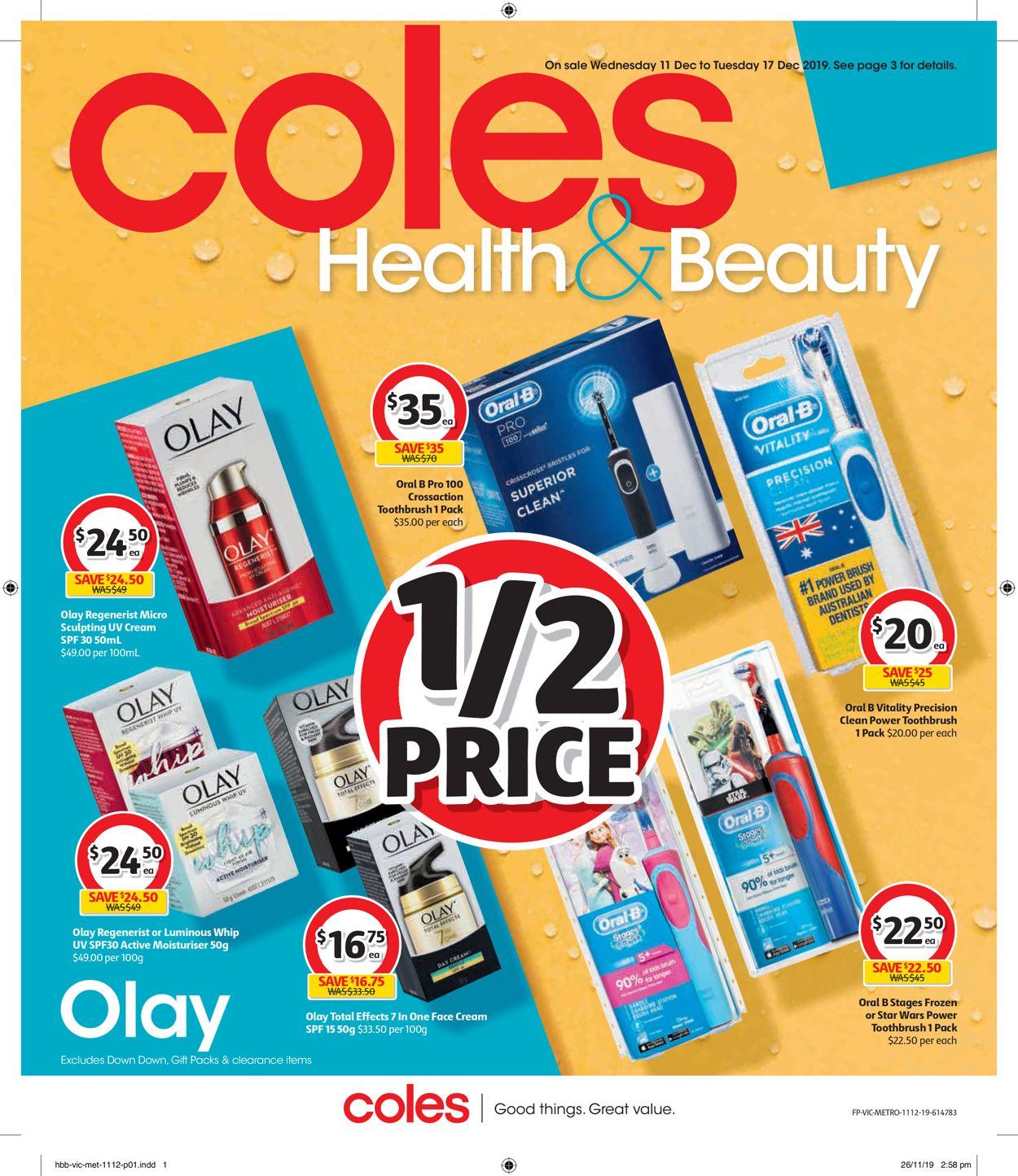 Coles Catalogue - 11/12-17/12/2019