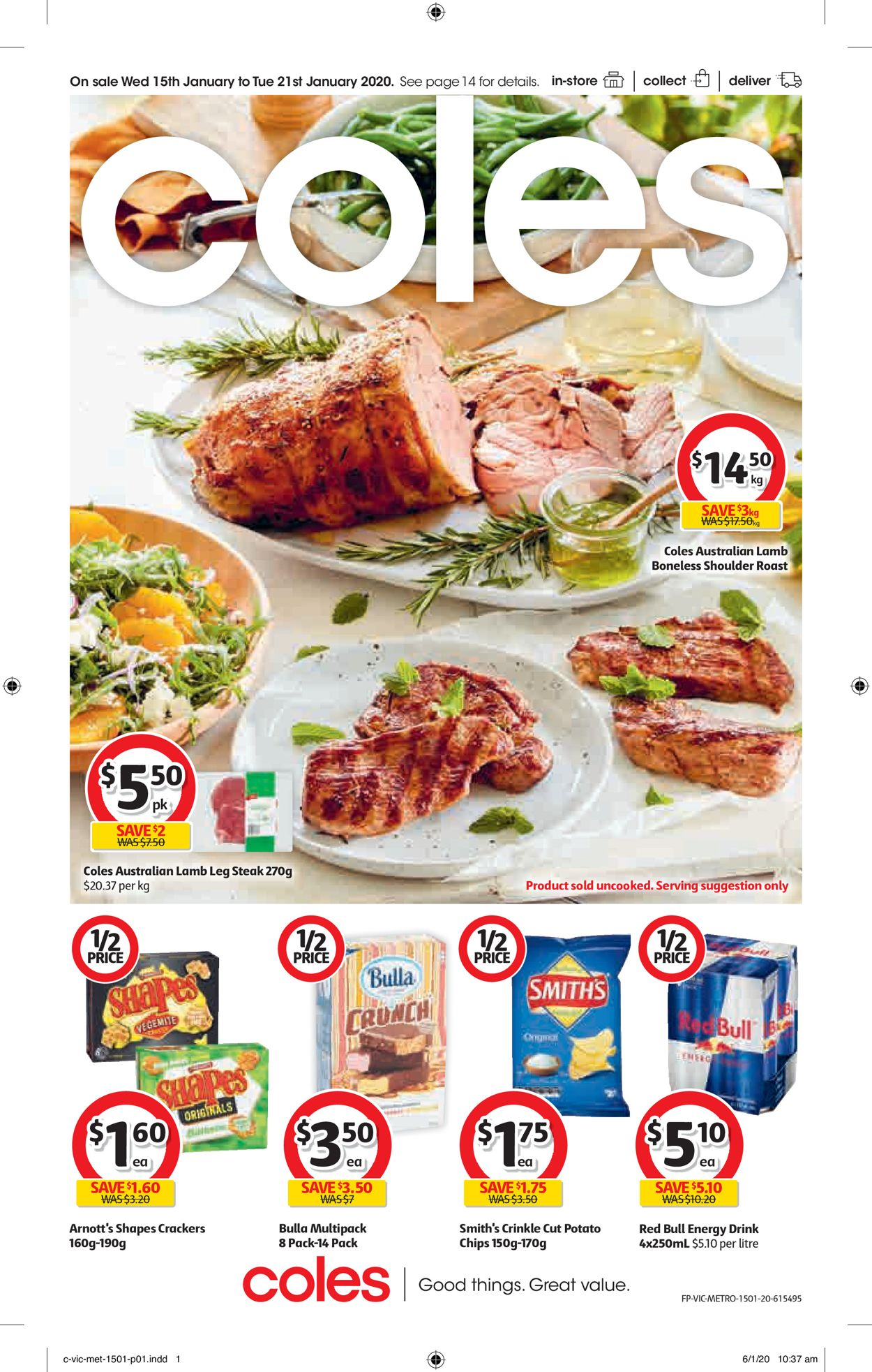 Coles Catalogue - 15/01-21/01/2020
