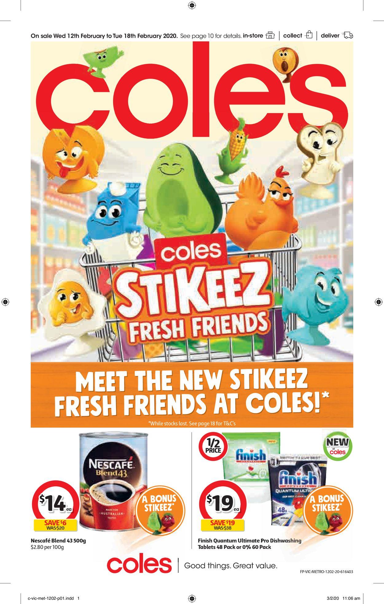 Coles Catalogue - 12/02-18/02/2020