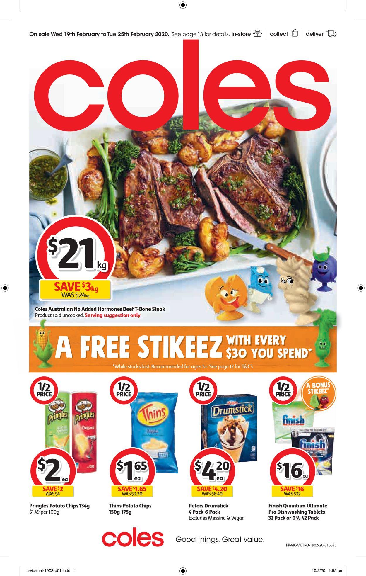 Coles Catalogue - 19/02-25/02/2020