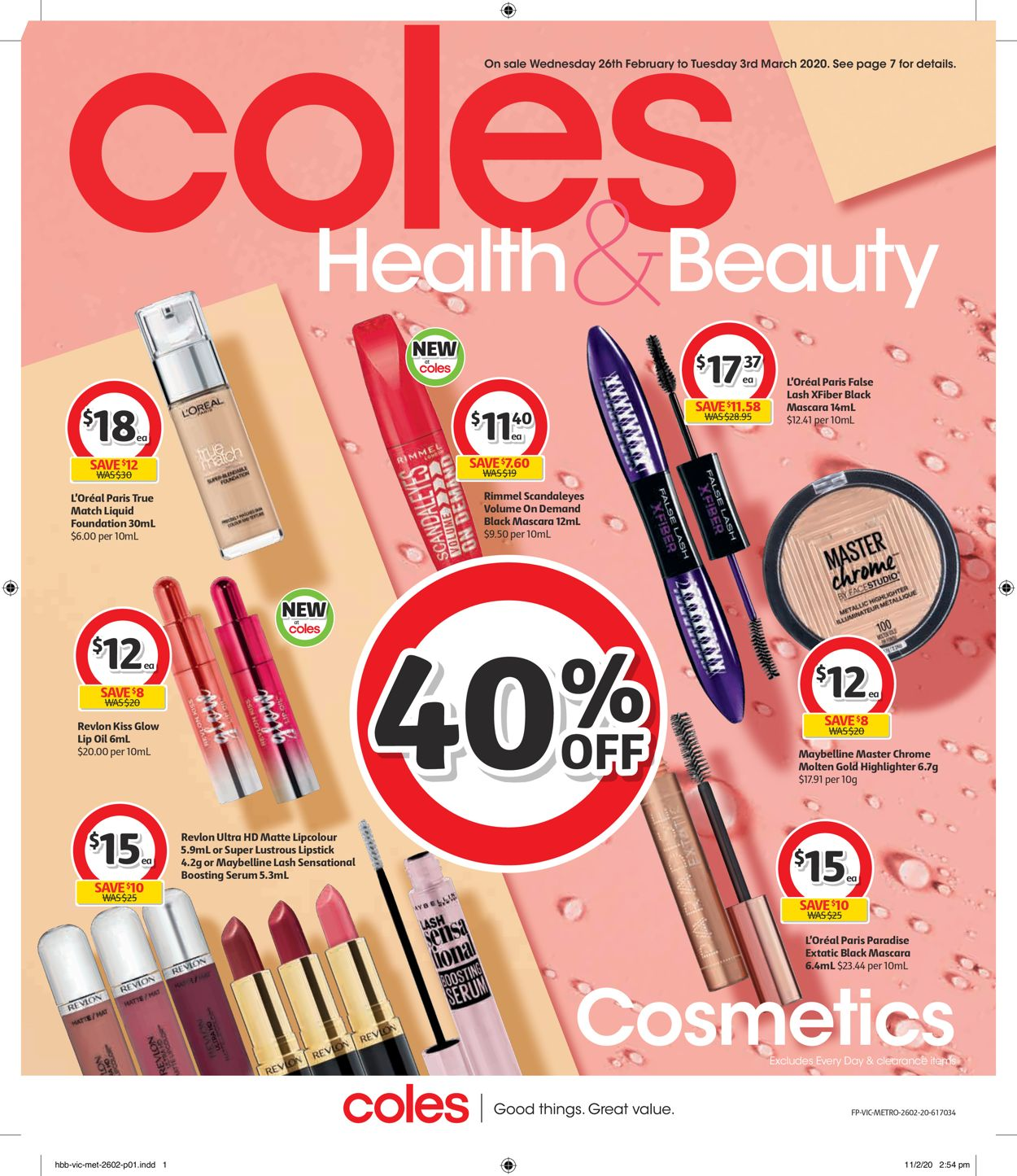 Coles Catalogue - 26/02-03/03/2020