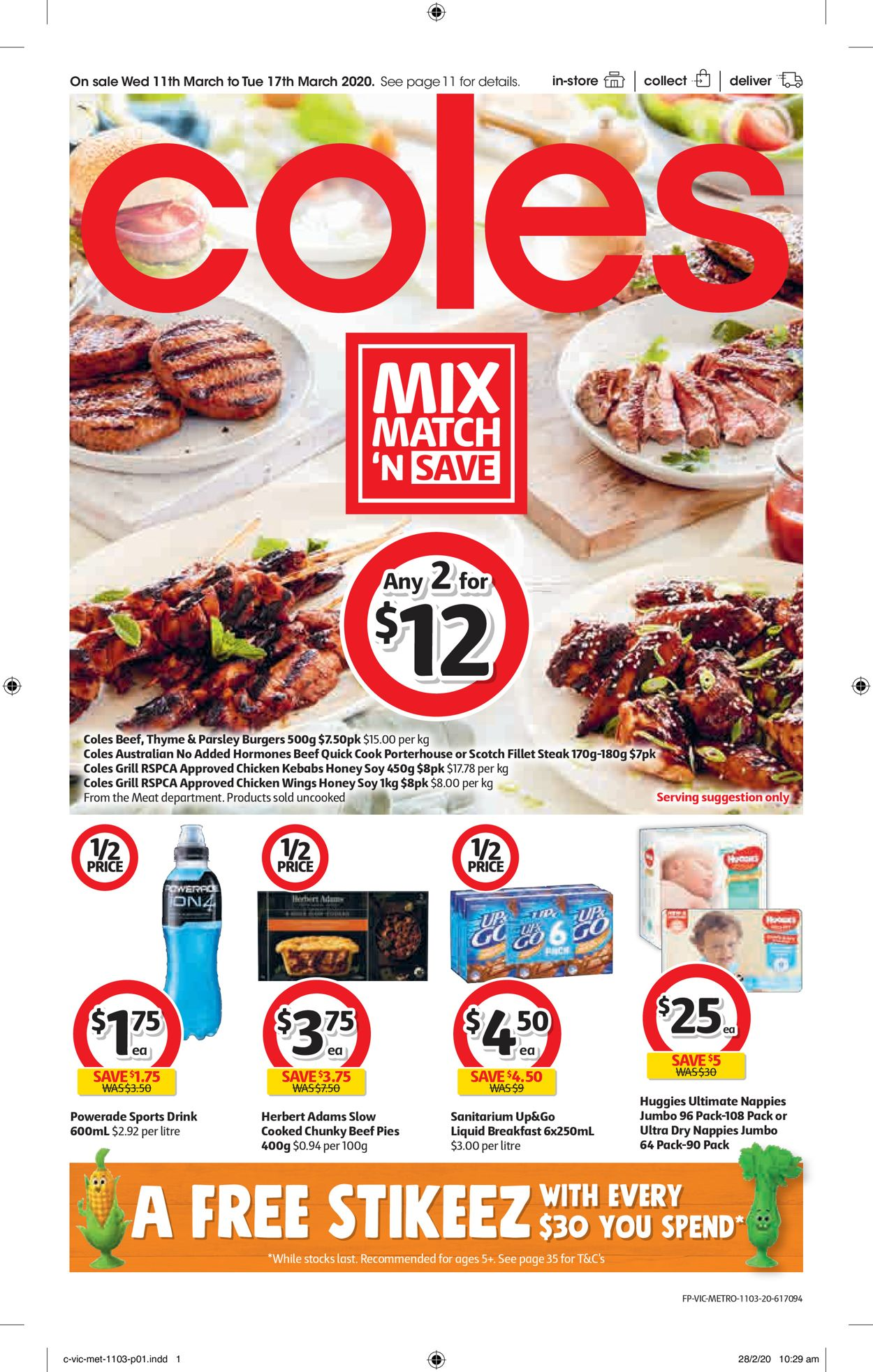 Coles Catalogue - 11/03-17/03/2020