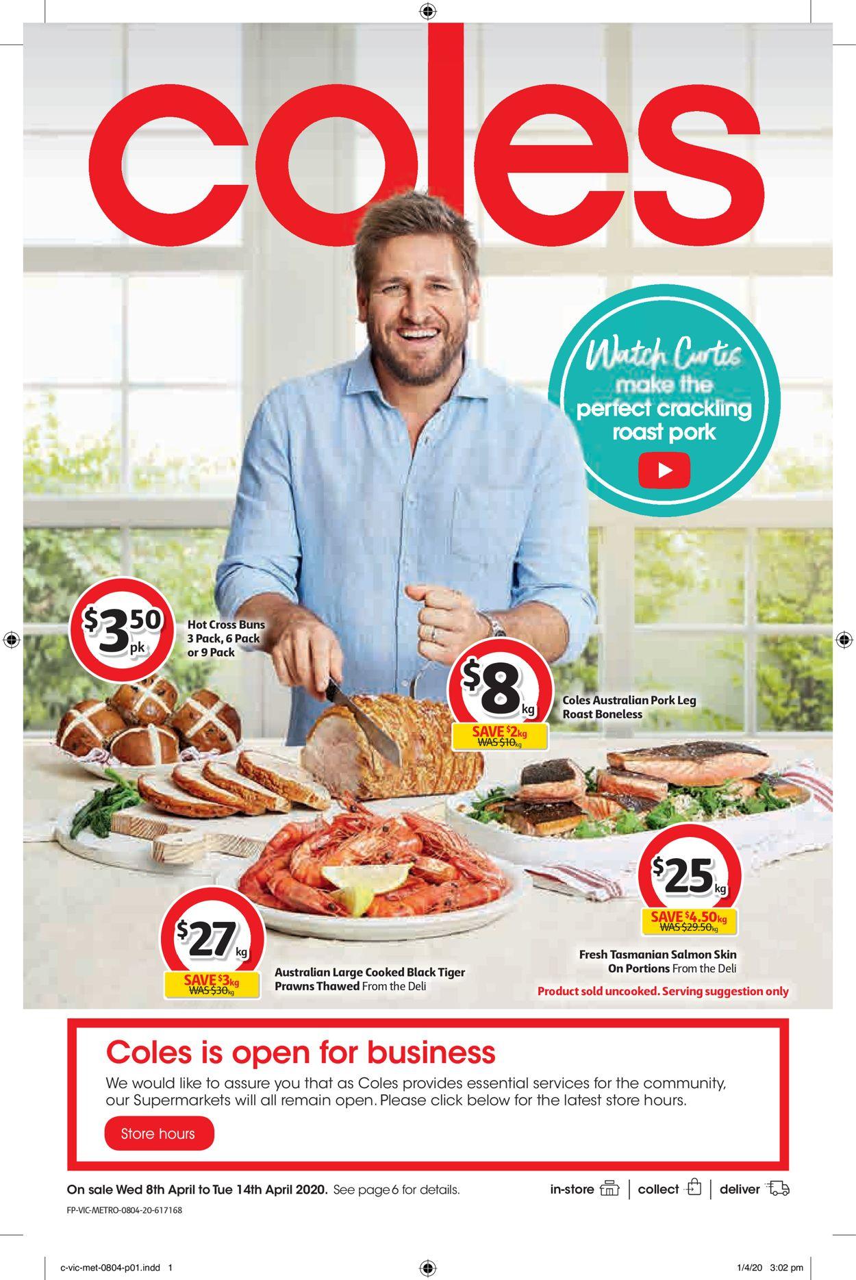 Coles Catalogue - 08/04-14/04/2020