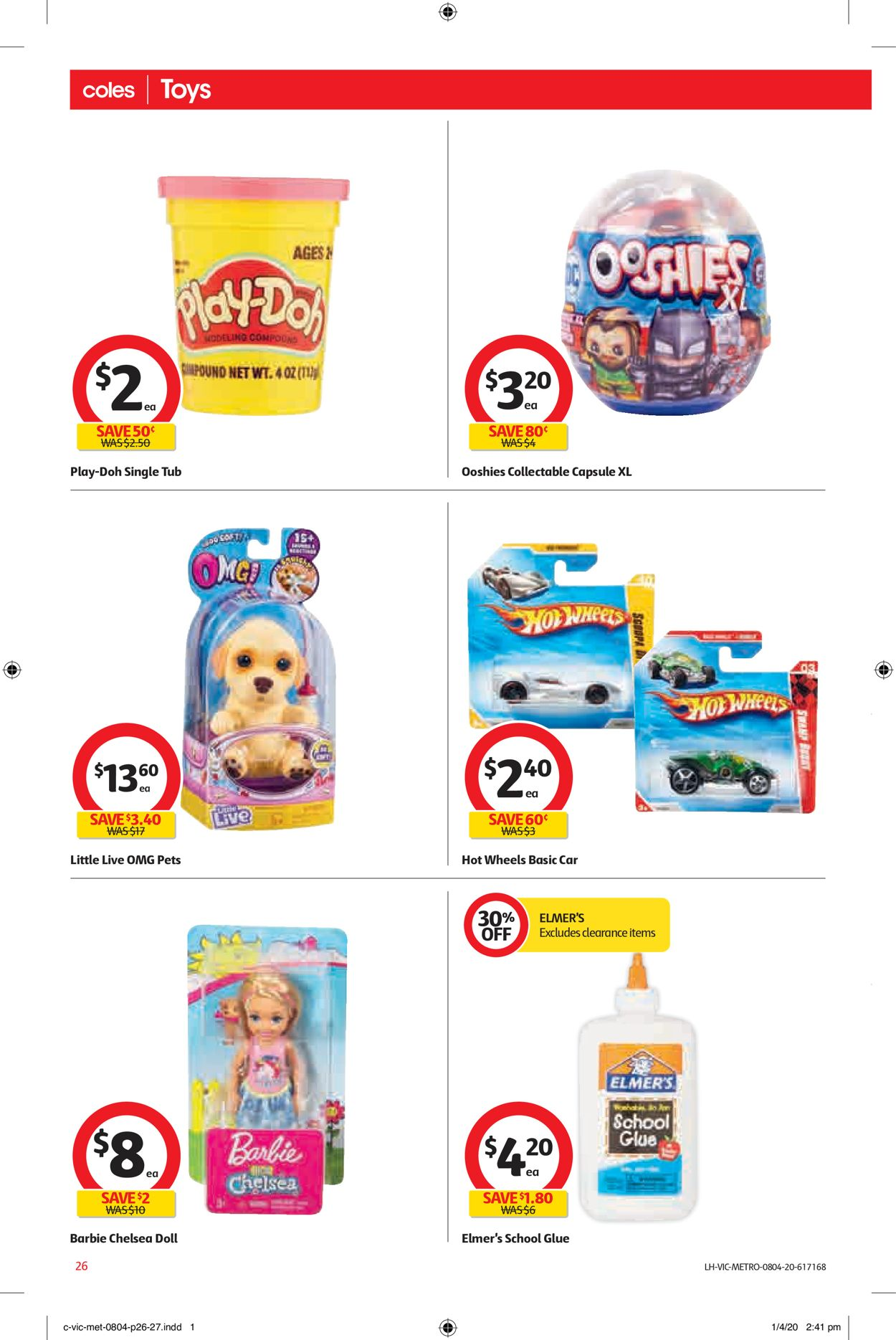 Coles Catalogue - 08/04-14/04/2020 (Page 28)