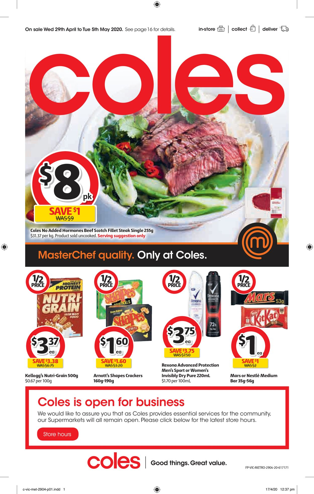 Coles Catalogue - 29/04-05/05/2020