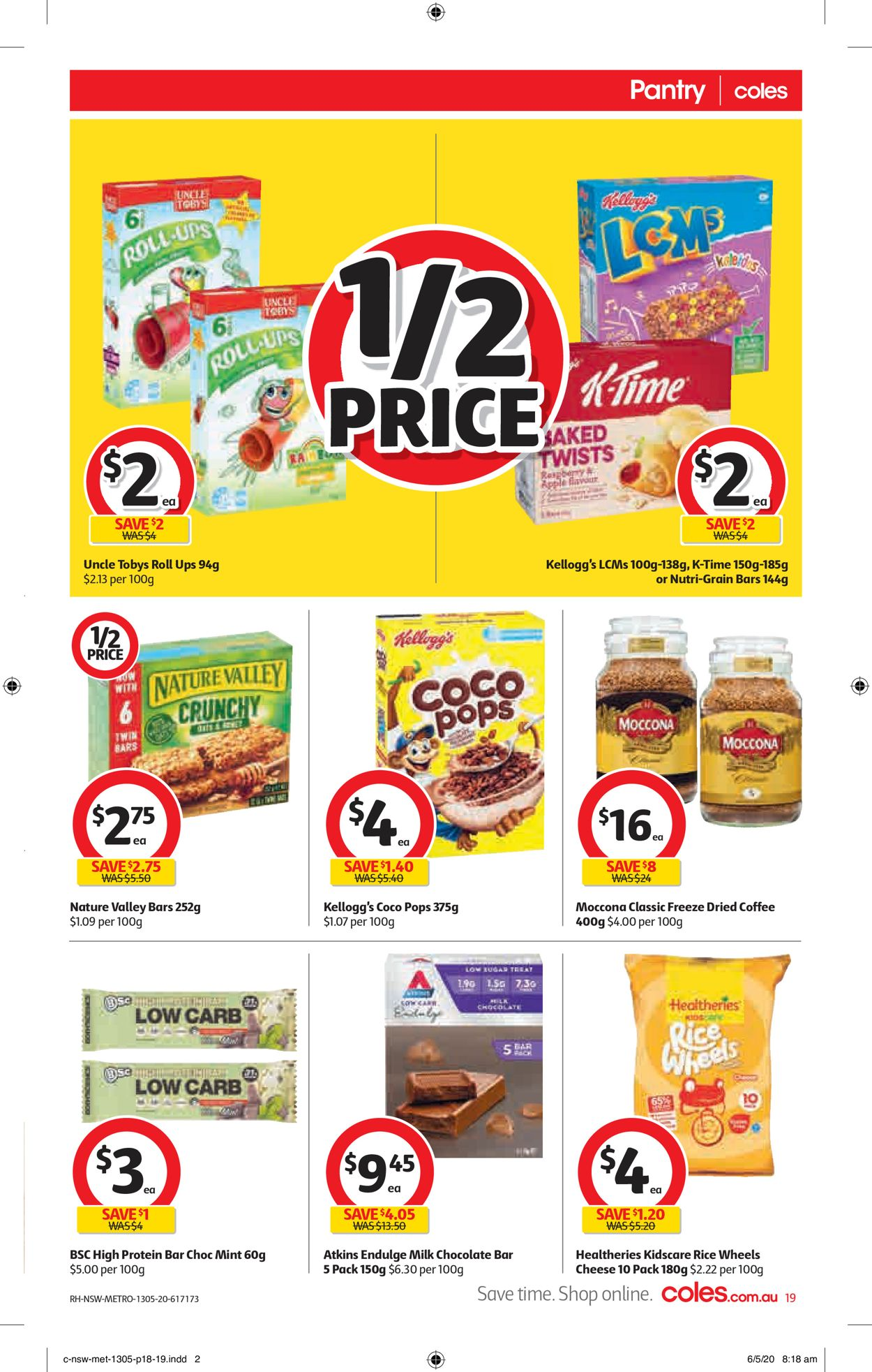 Coles Catalogue - 13/05-19/05/2020 (Page 19)
