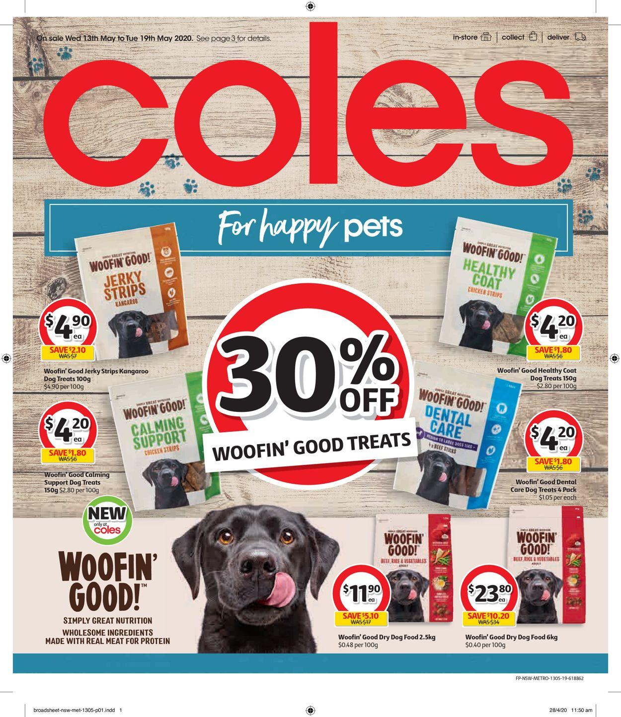 Coles Catalogue - 13/05-19/05/2020