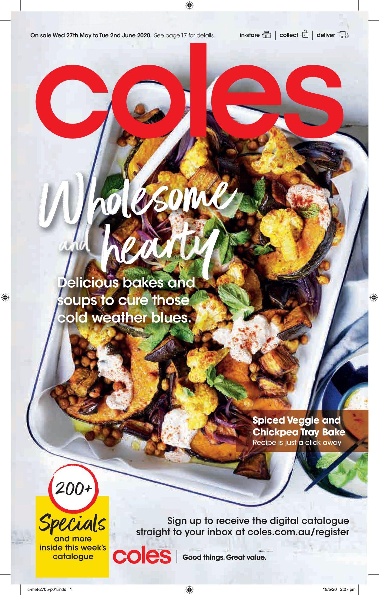 Coles Catalogue - 27/05-02/06/2020
