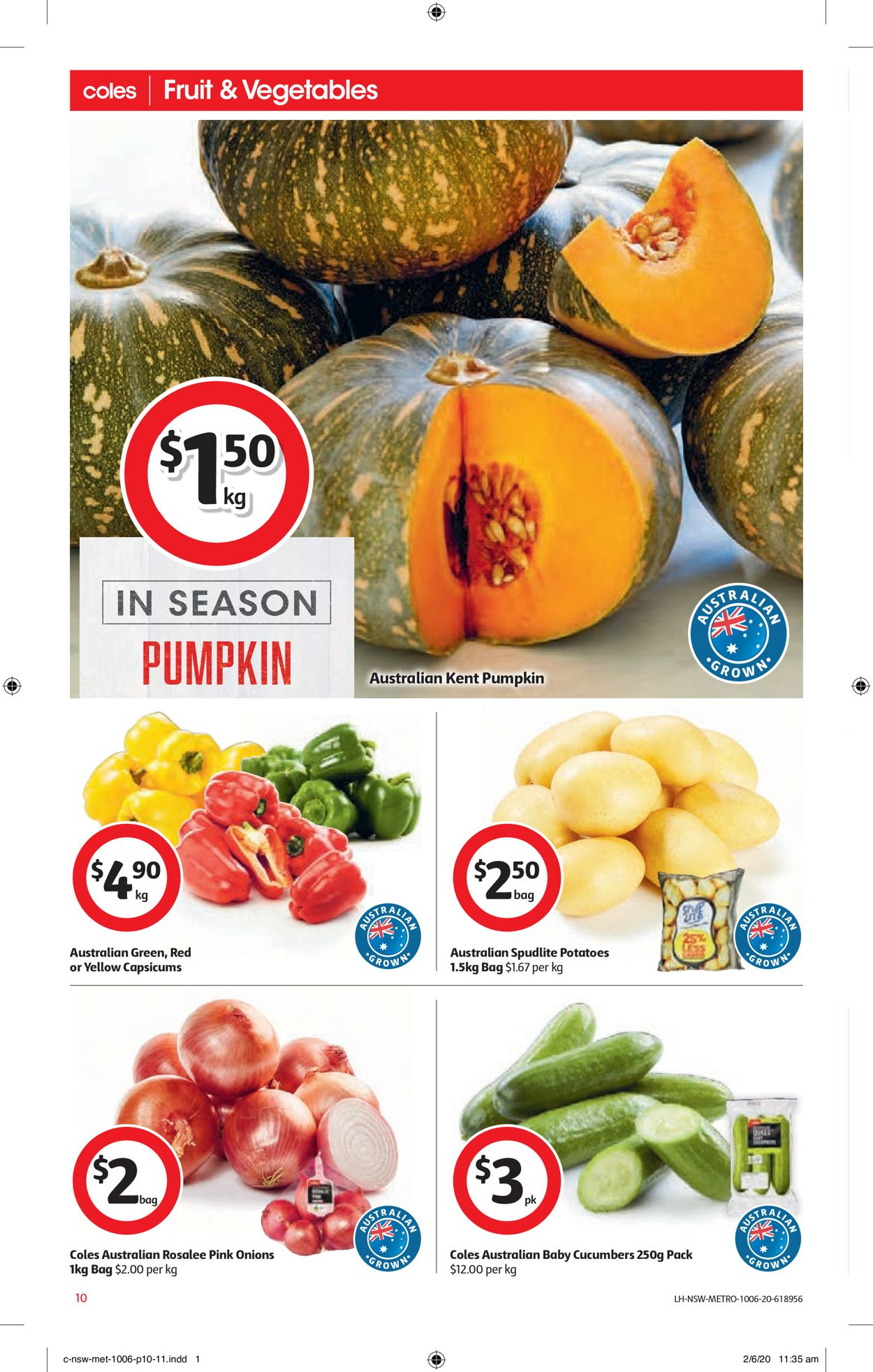 Coles Catalogue - 10/06-16/06/2020 (Page 10)