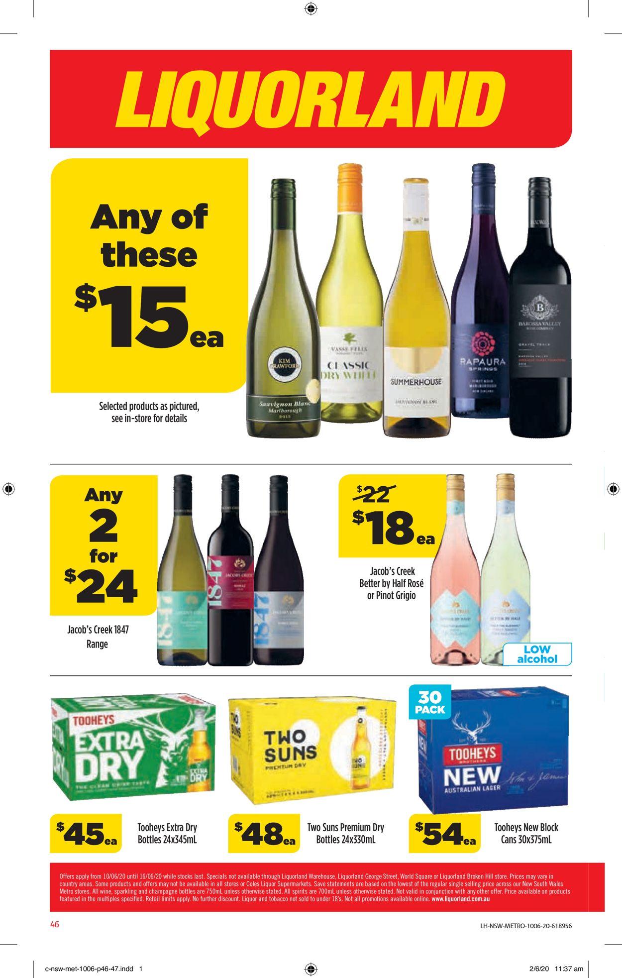 Coles Catalogue - 10/06-16/06/2020 (Page 46)