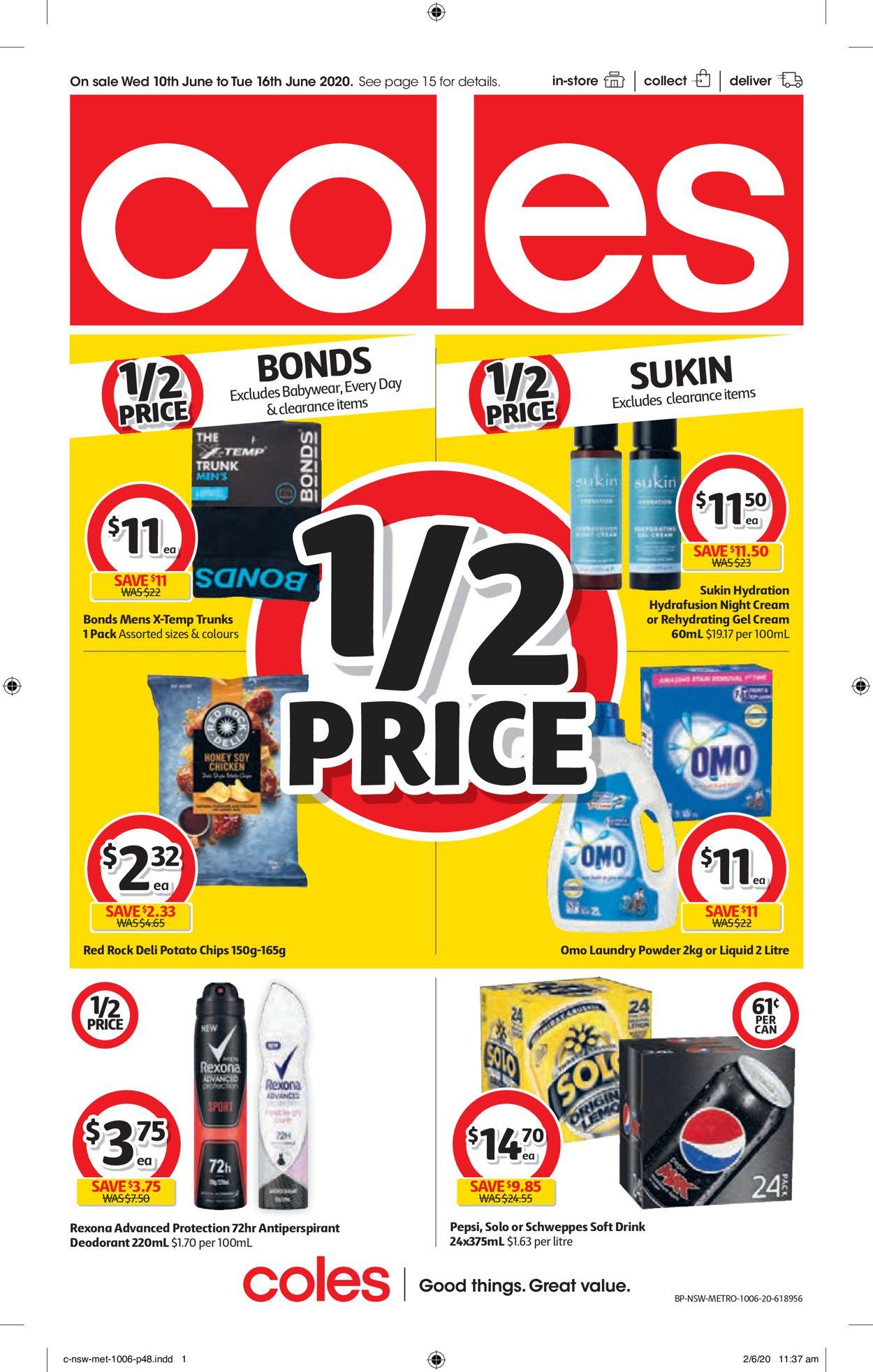 Coles Catalogue - 10/06-16/06/2020 (Page 48)