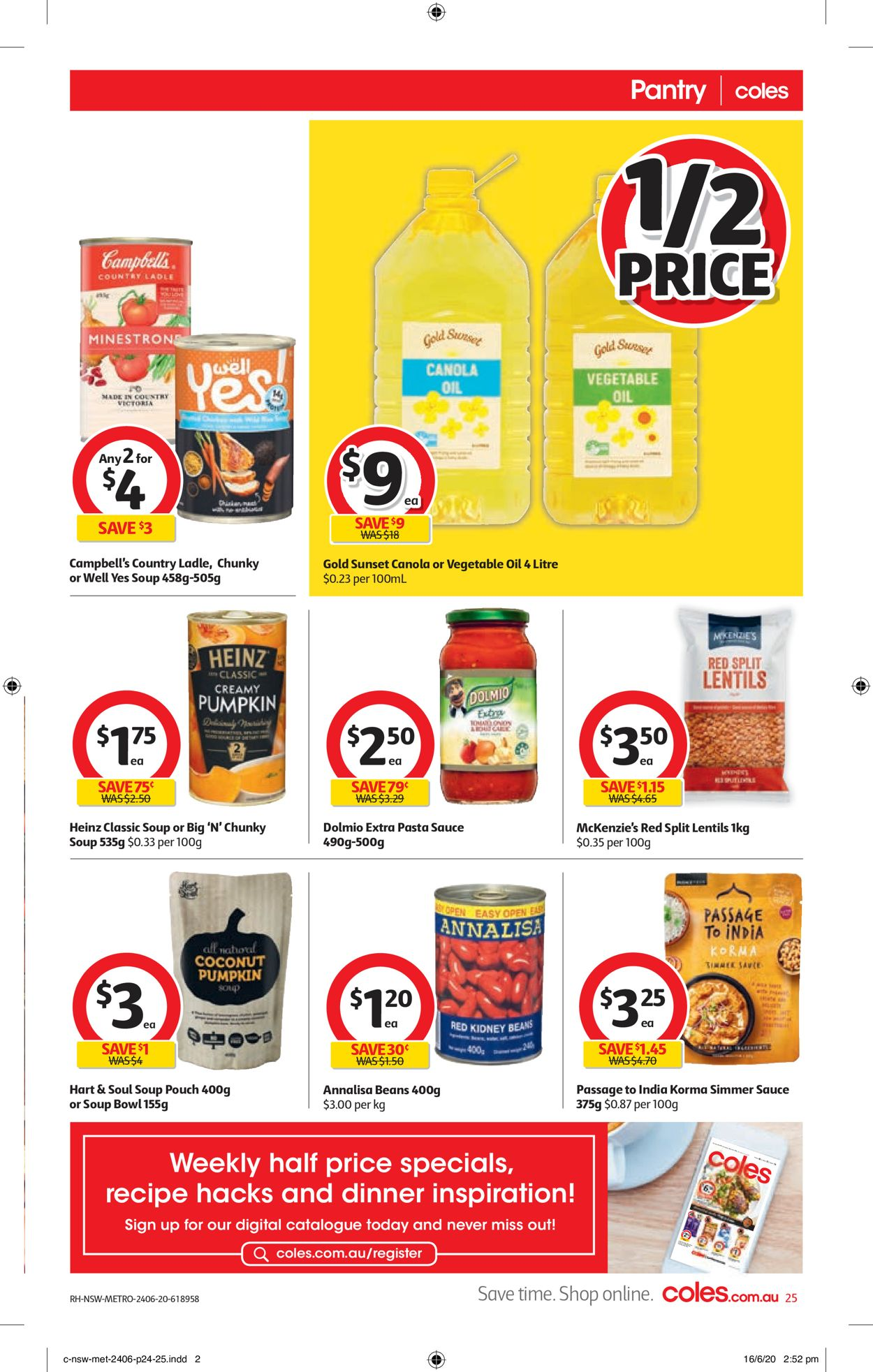 Coles Catalogue - 24/06-30/06/2020 (Page 25)