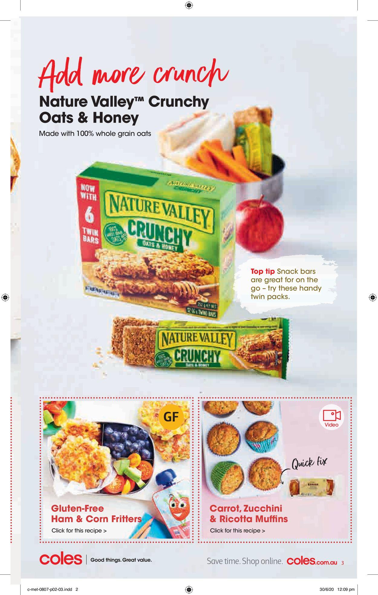 Coles Catalogue - 08/07-14/07/2020 (Page 3)
