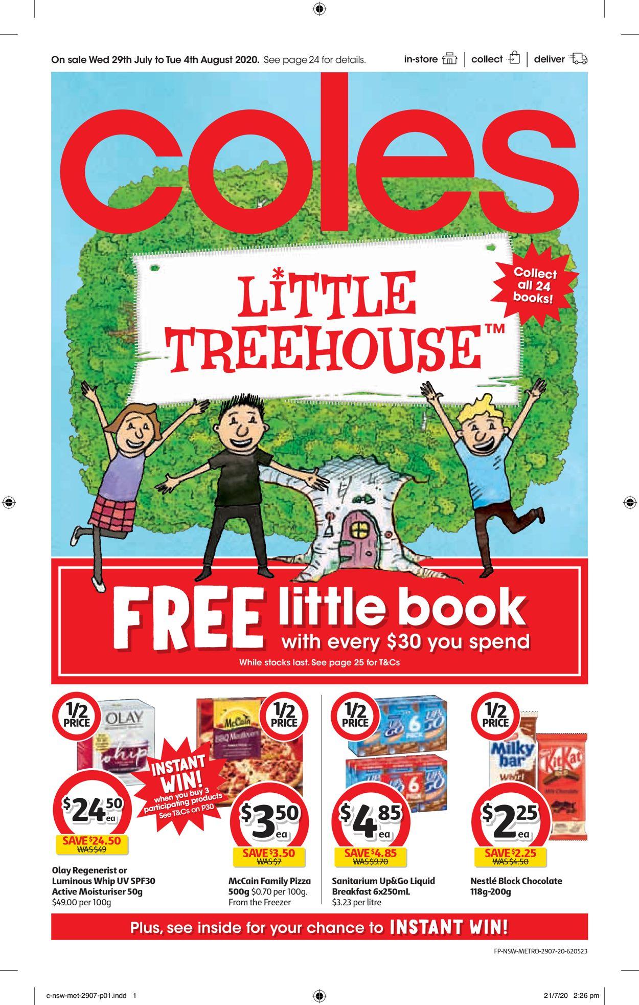 Coles Catalogue - 29/07-04/08/2020