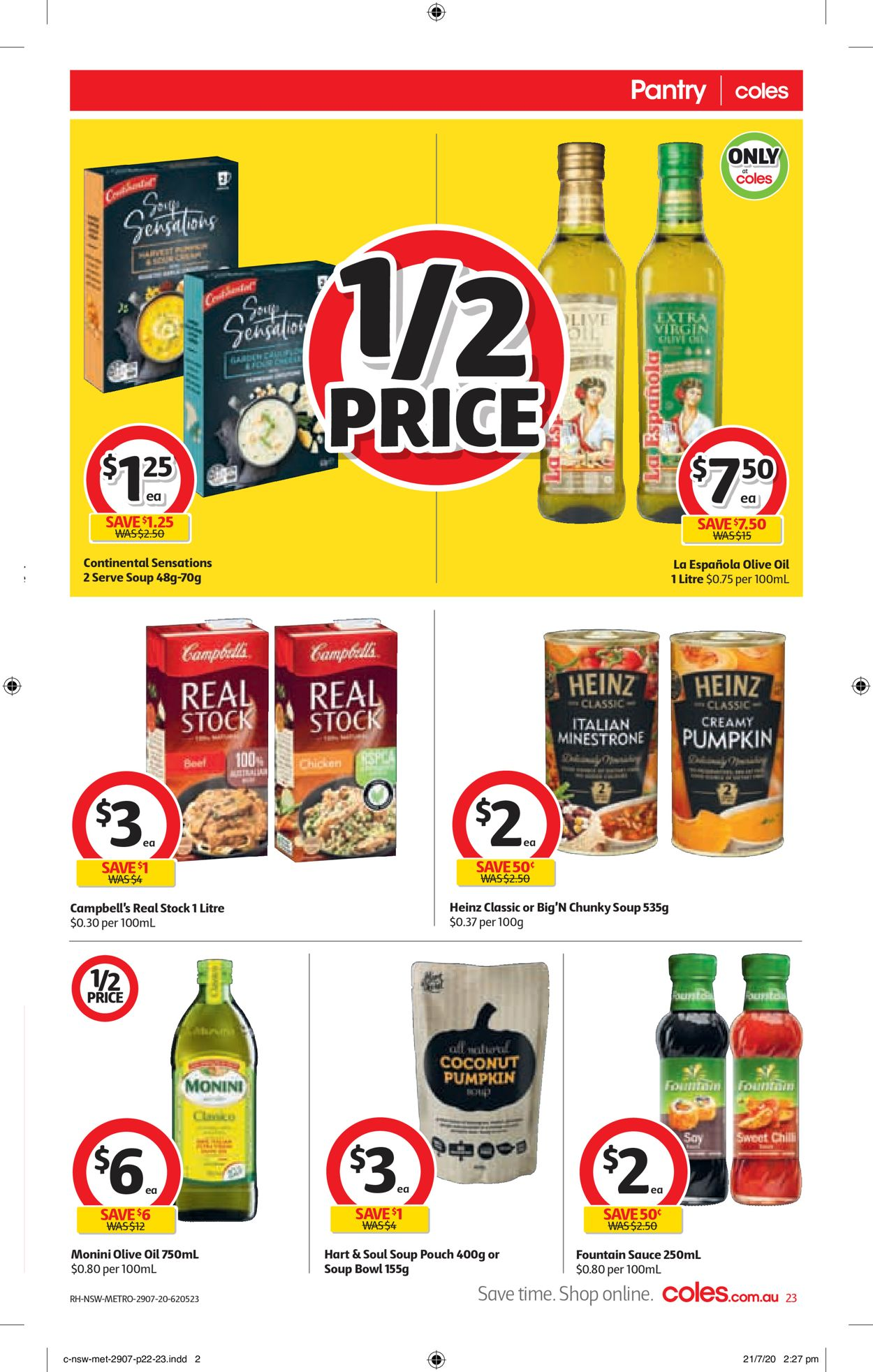 Coles Catalogue - 29/07-04/08/2020 (Page 23)