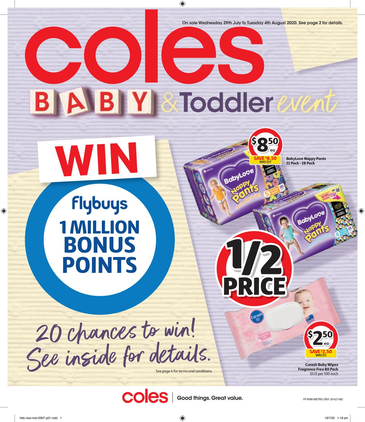 Coles Catalogue - 29/07-04/08/2020
