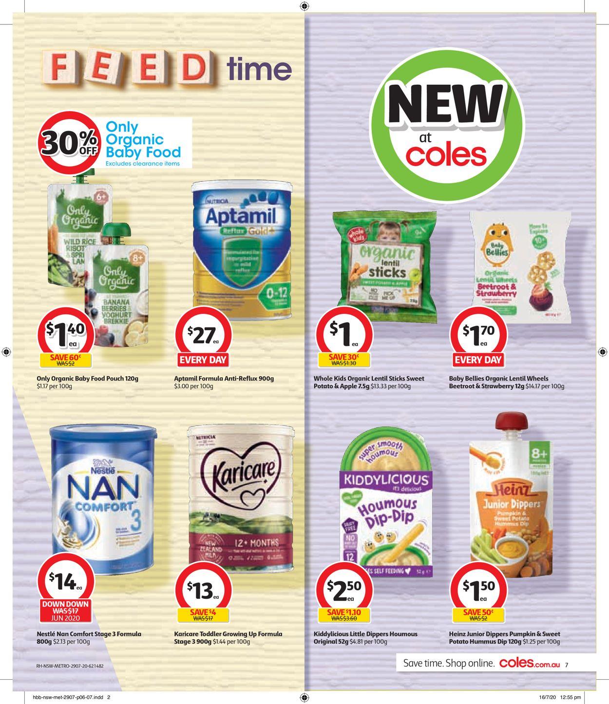 Coles Catalogue - 29/07-04/08/2020 (Page 7)