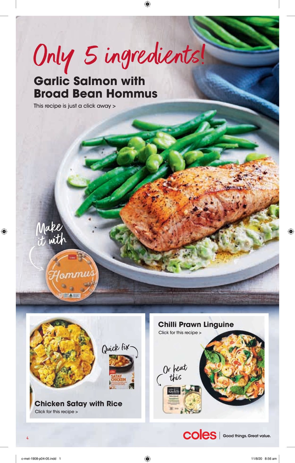 Coles Catalogue - 19/08-25/08/2020 (Page 4)