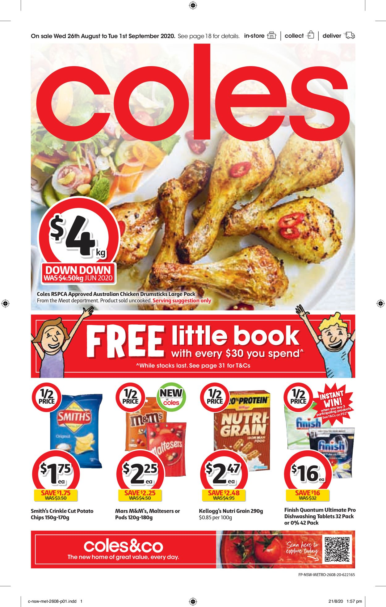 Coles Catalogue - 26/08-01/09/2020