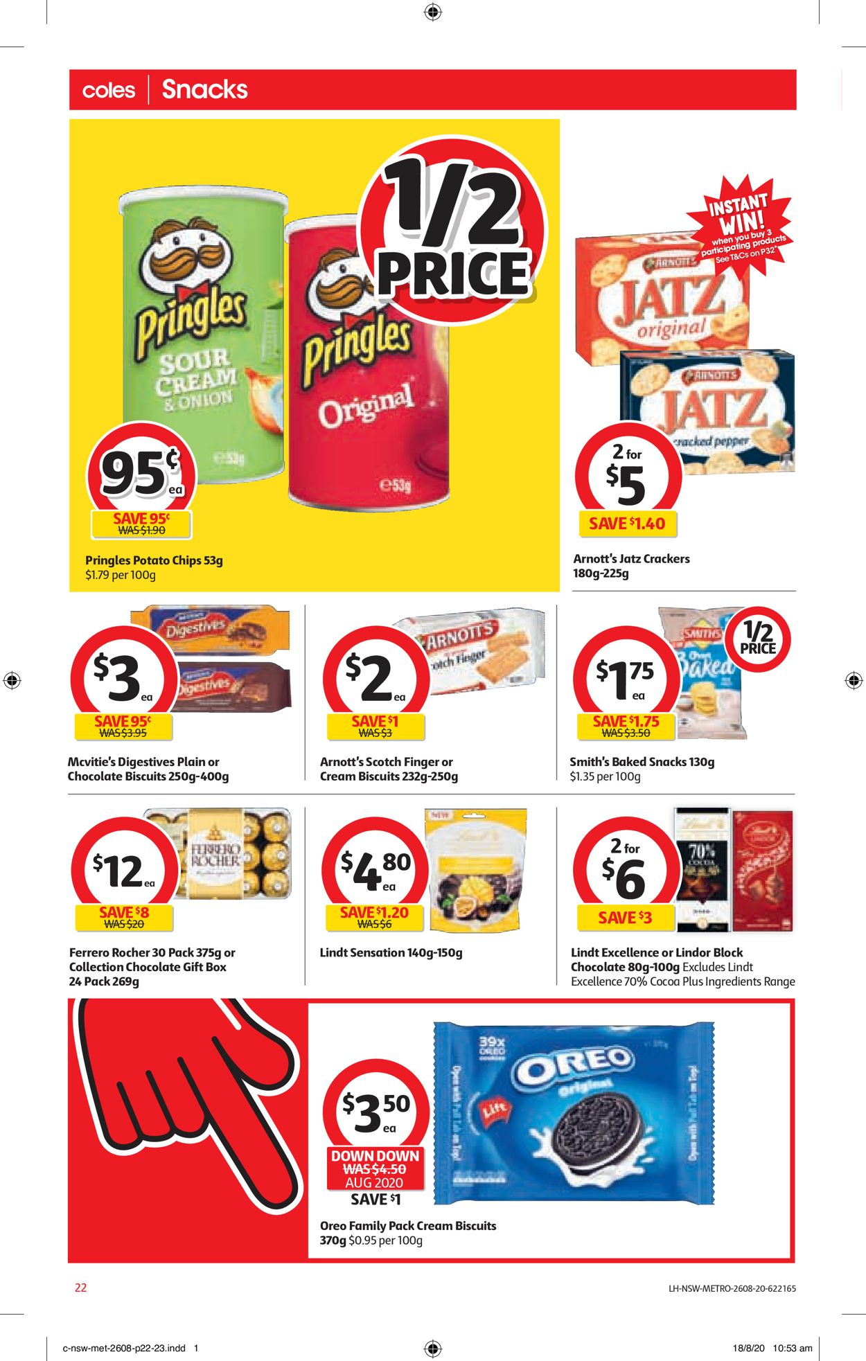 Coles Catalogue - 26/08-01/09/2020 (Page 22)