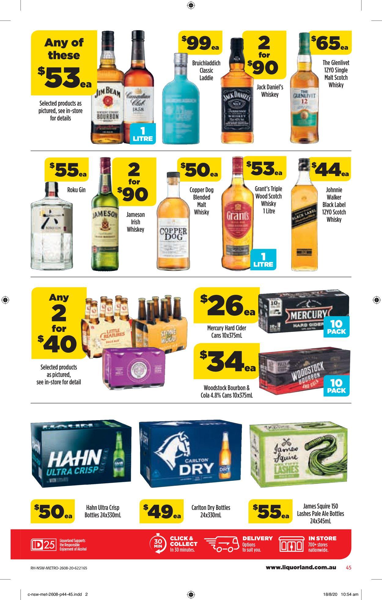 Coles Catalogue - 26/08-01/09/2020 (Page 45)
