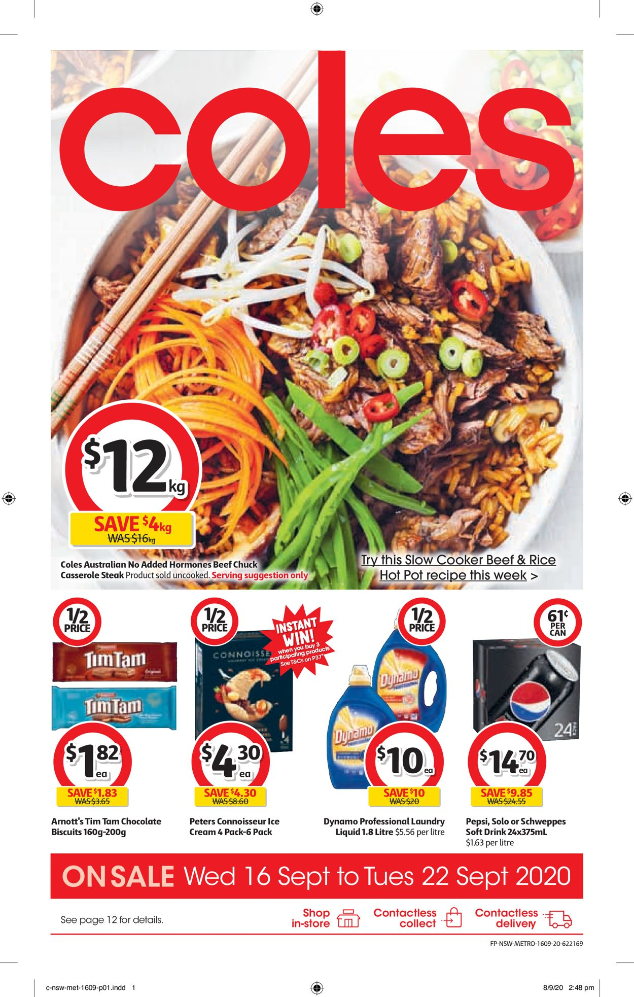 Coles Catalogue - 16/09-22/09/2020