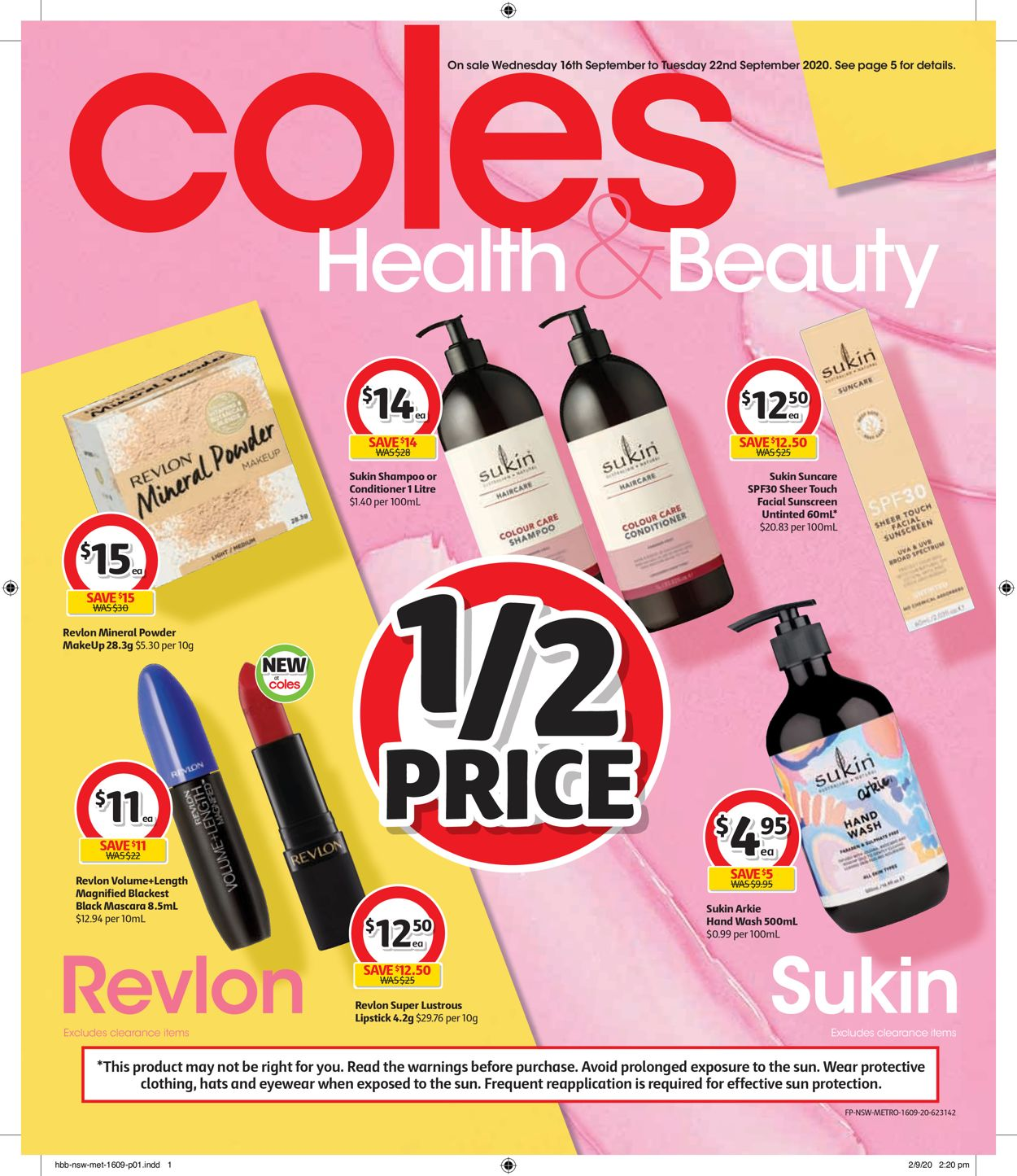 Coles Catalogue - 16/09-22/09/2020