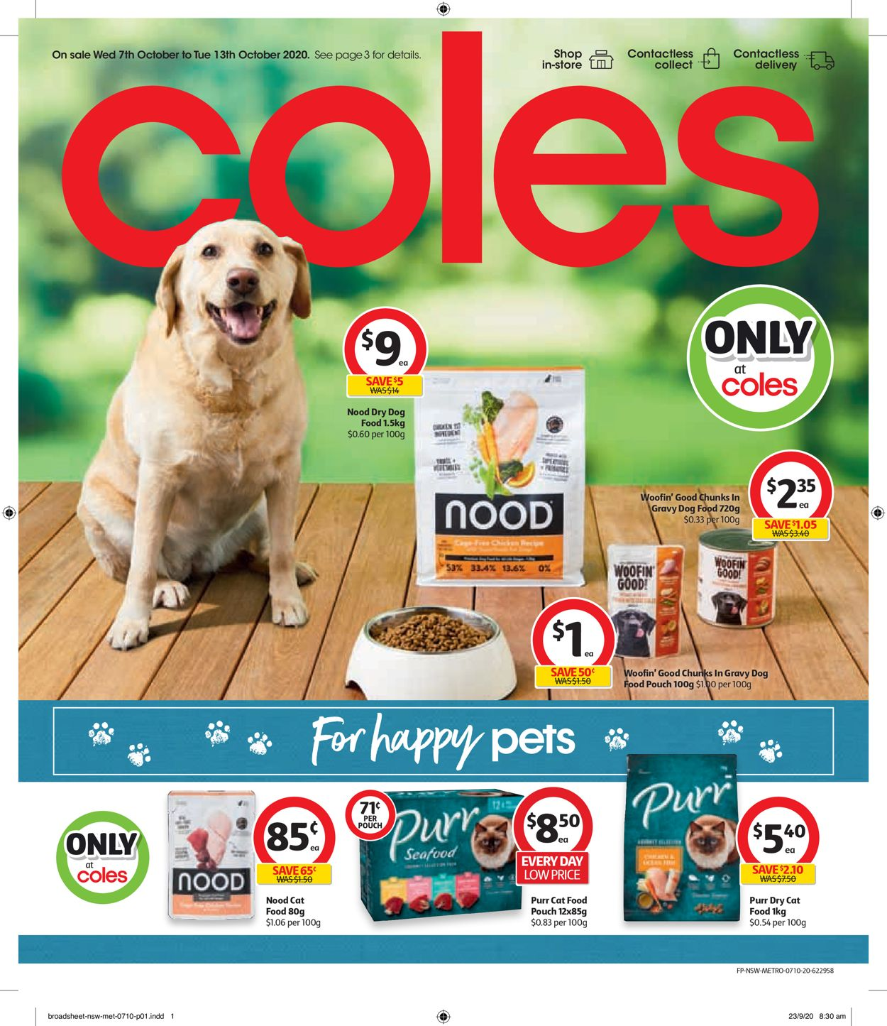 Coles Catalogue - 07/10-13/10/2020