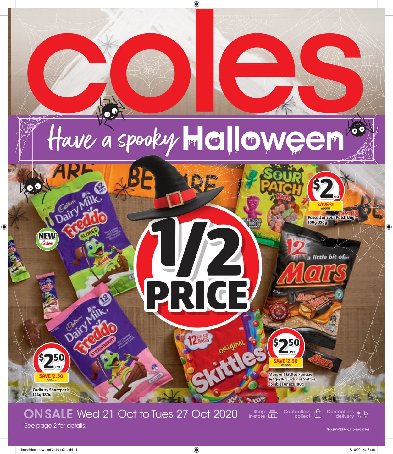 Coles Catalogue - 21/10-27/10/2020