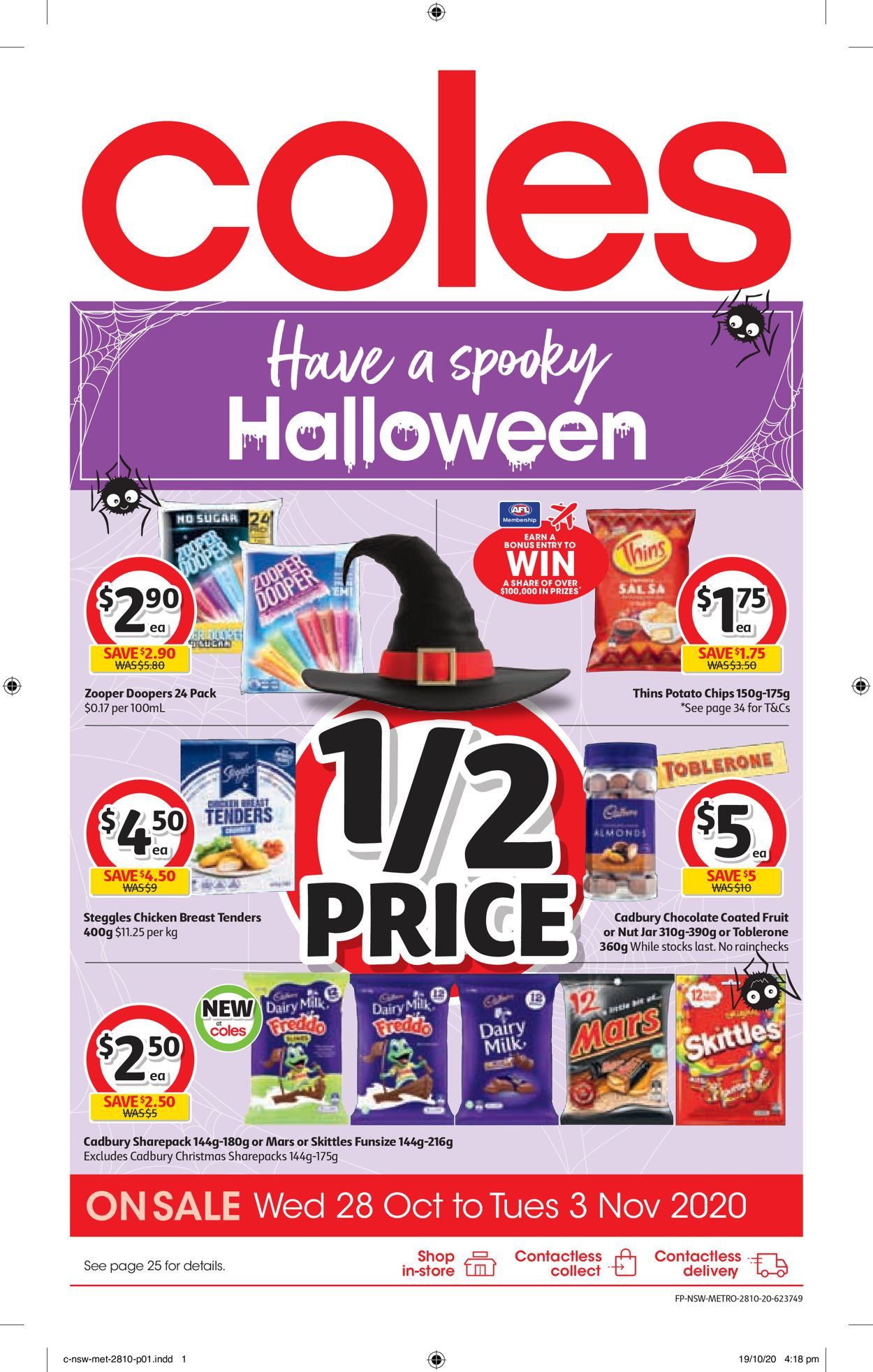 Coles Catalogue - 28/10-03/11/2020