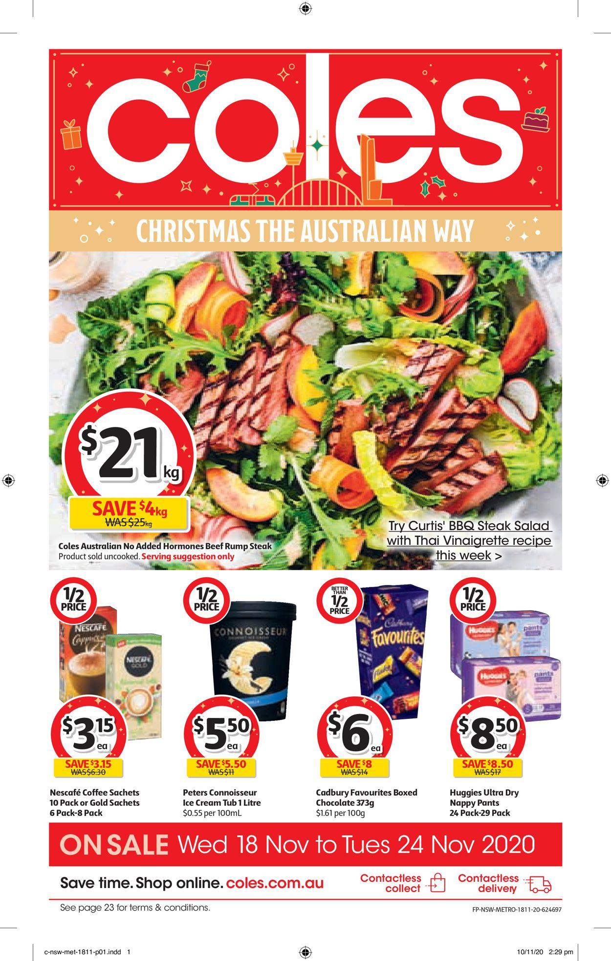 Coles Christmas 2020 Catalogue - 18/11-24/11/2020