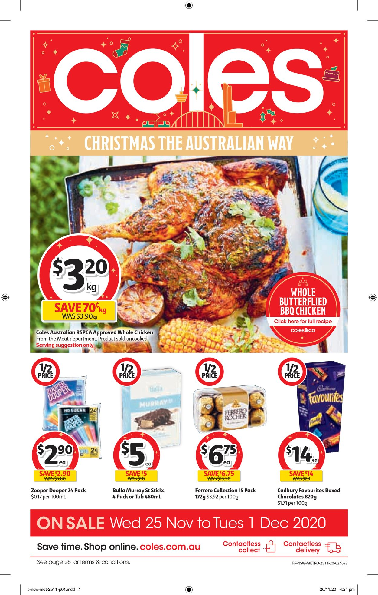 Coles Black Friday 2020 Catalogue - 25/11-01/12/2020