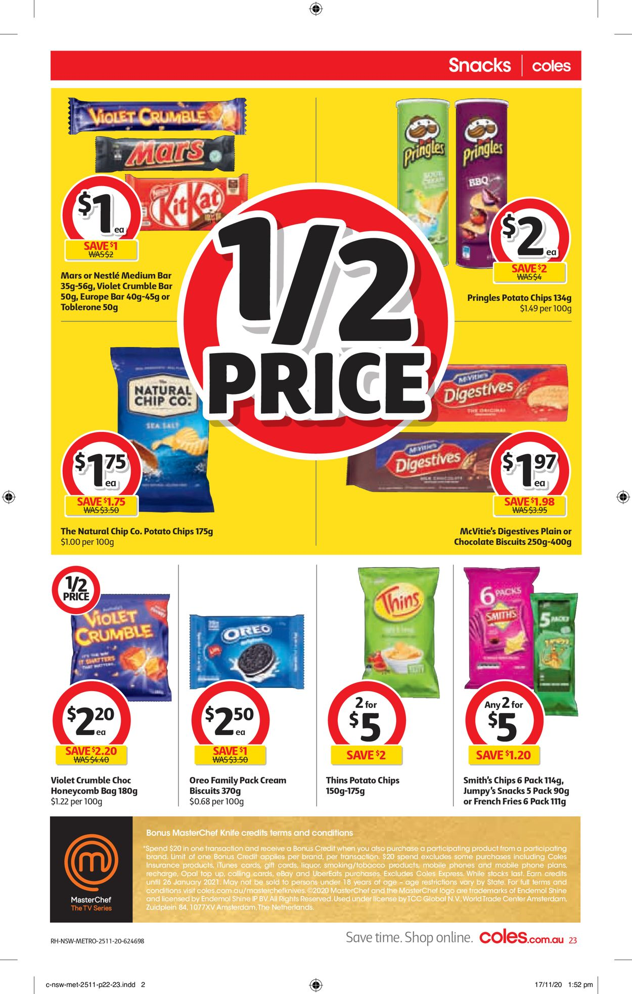Coles Black Friday 2020 Catalogue - 25/11-01/12/2020 (Page 23)